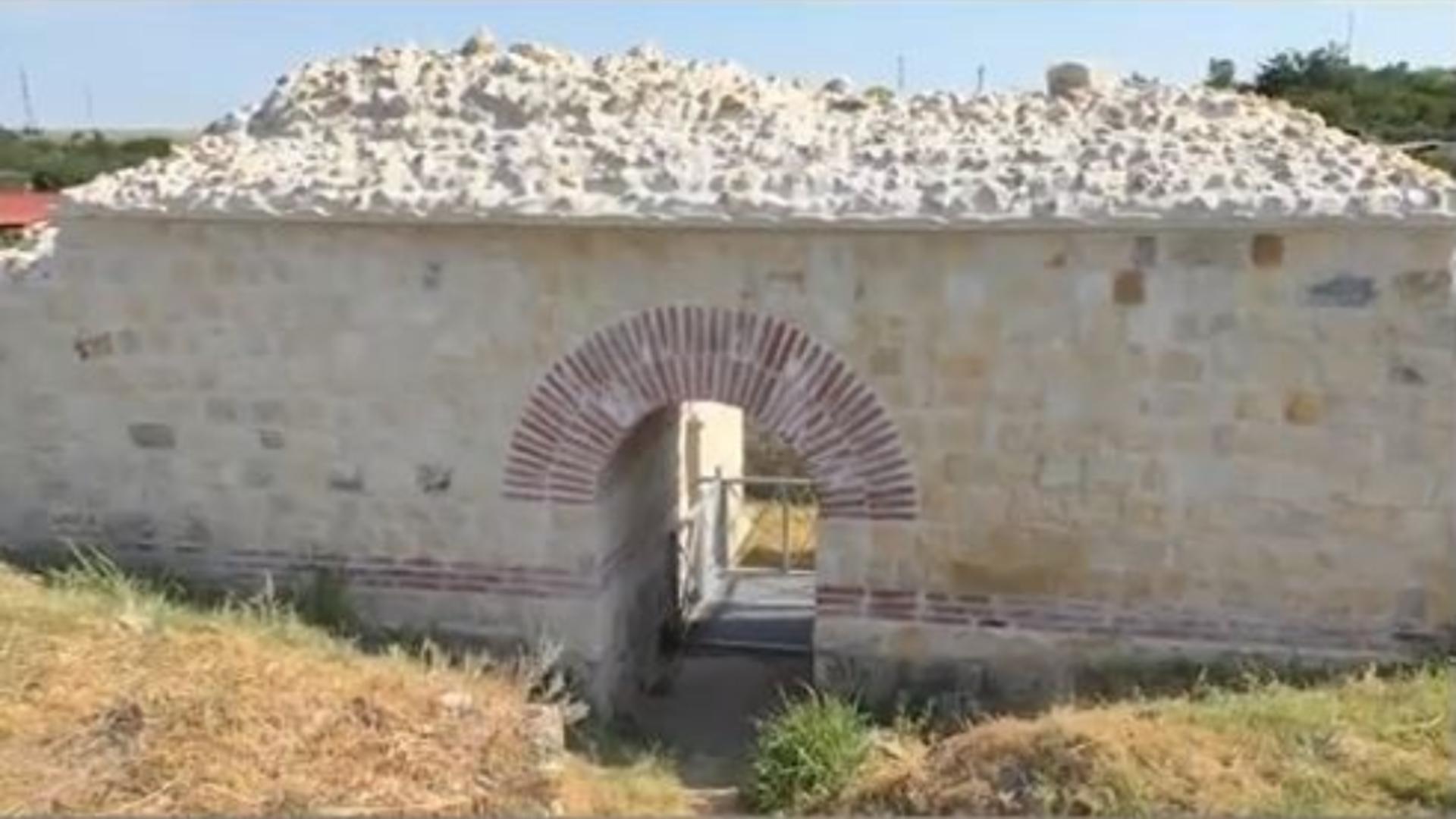 Cetatea Capidava va primi turiști după 12 ani. Captură video