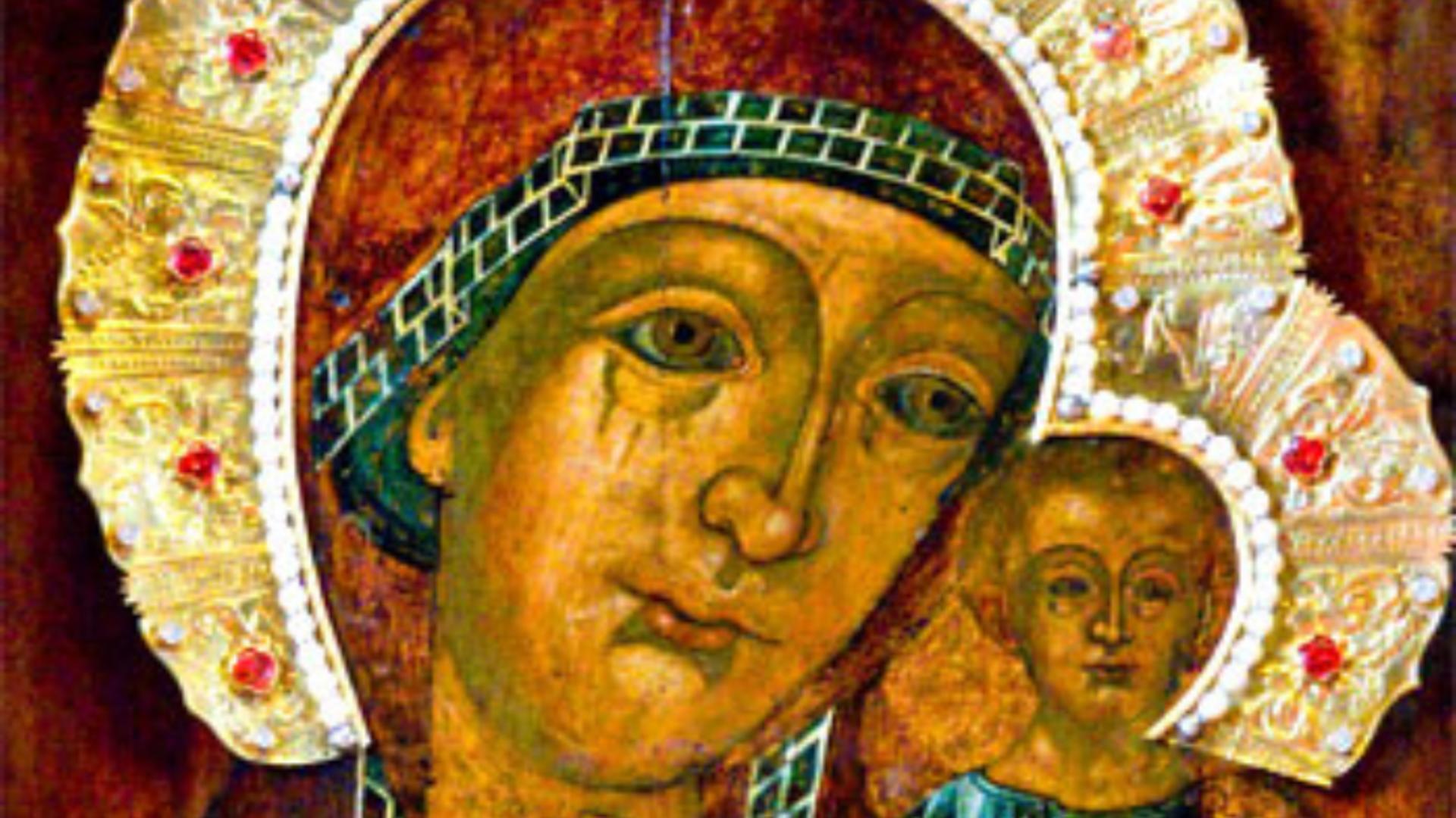 Icoana Făcătoare de Minuni de la mănăstirea Ghighiu a ajuns în București Foto: ZiarulLumina