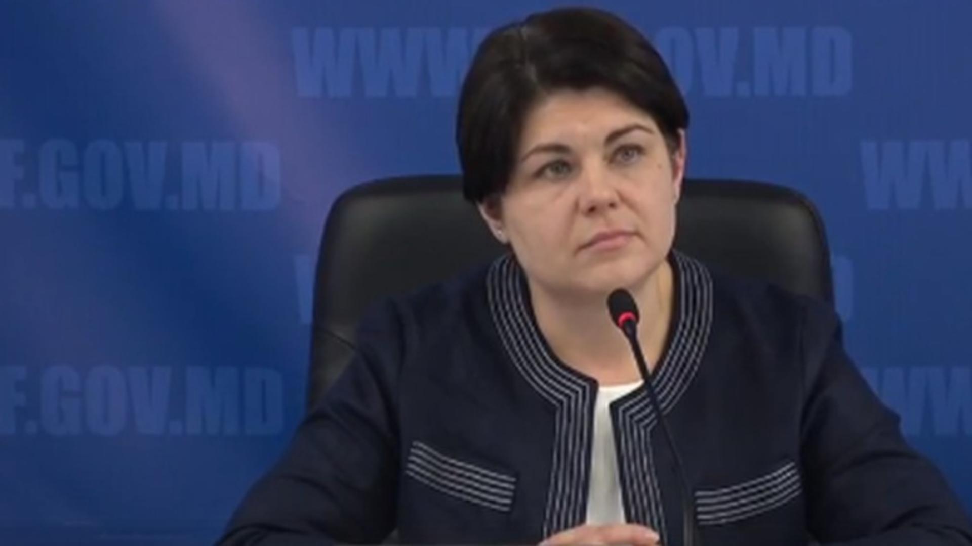 Natalia Gavrilița, premierul Republicii Moldova, desemnat de Maia Sandu