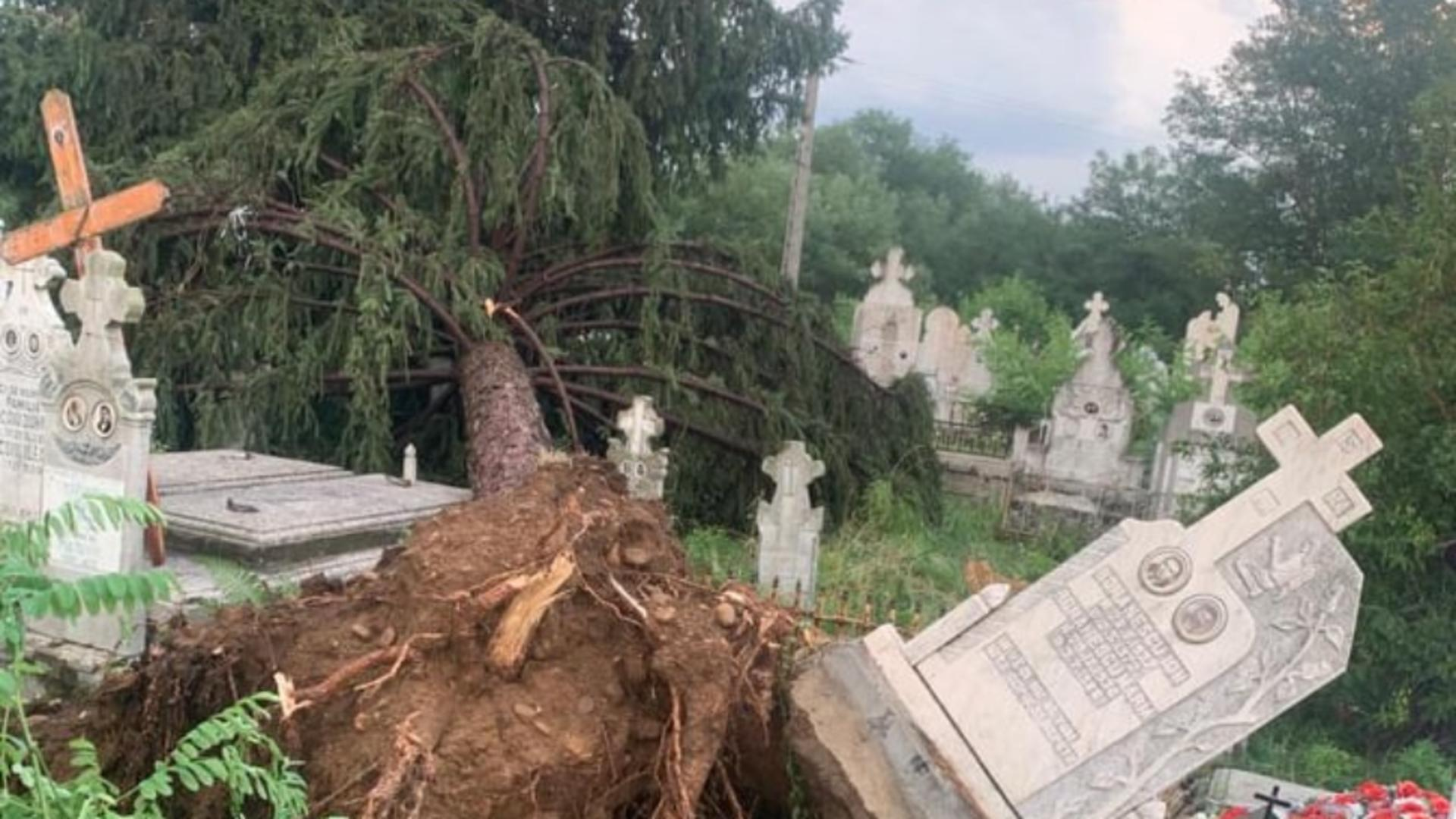 Furtună în Gorj