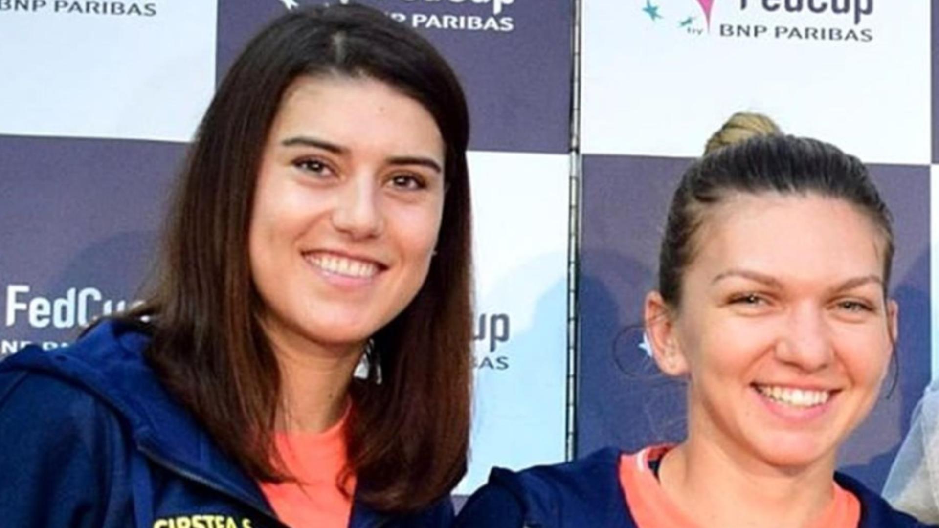 Sorana Cîrstea și Simona Halep