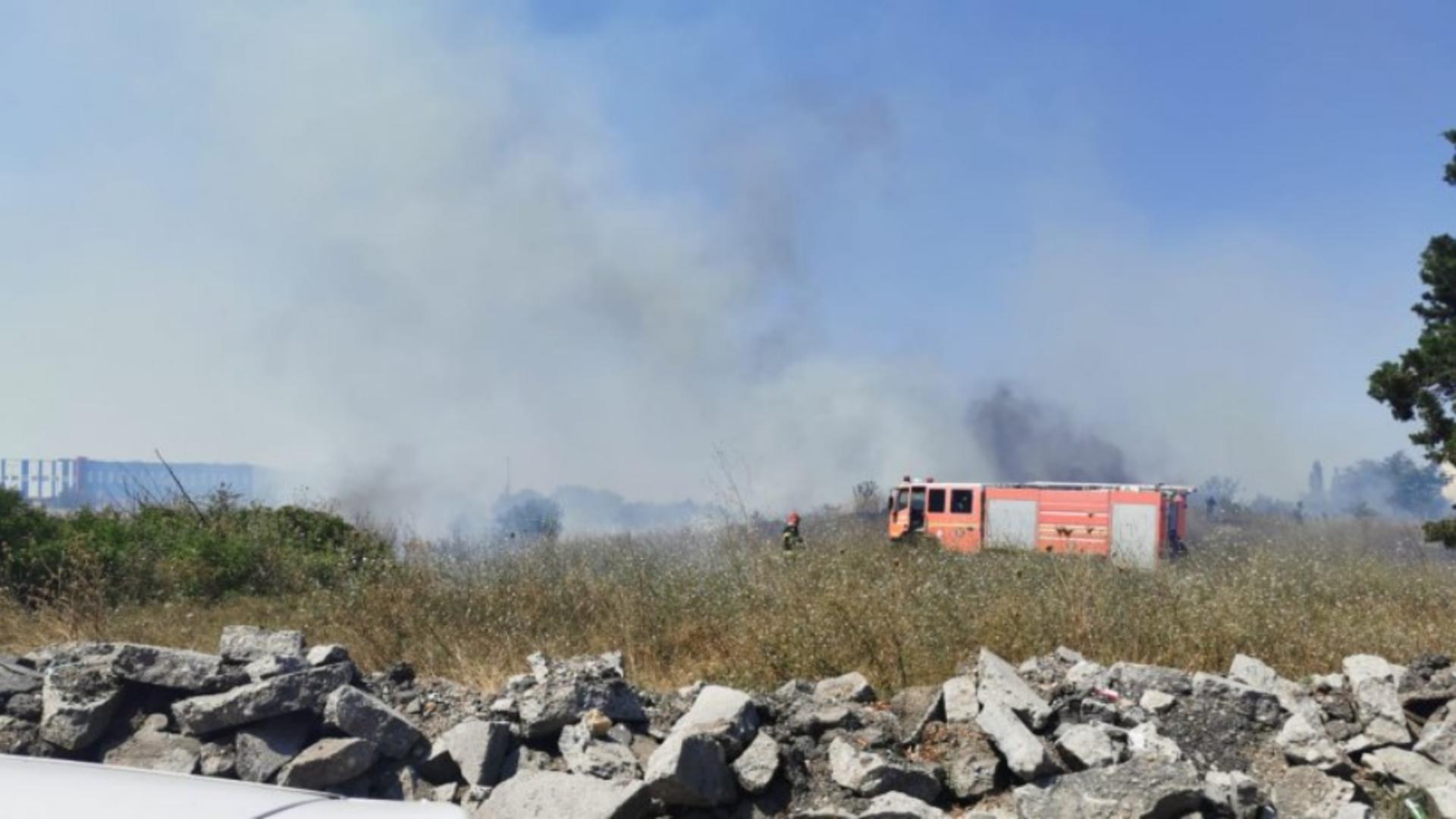 Incendiu Popești-Leordeni