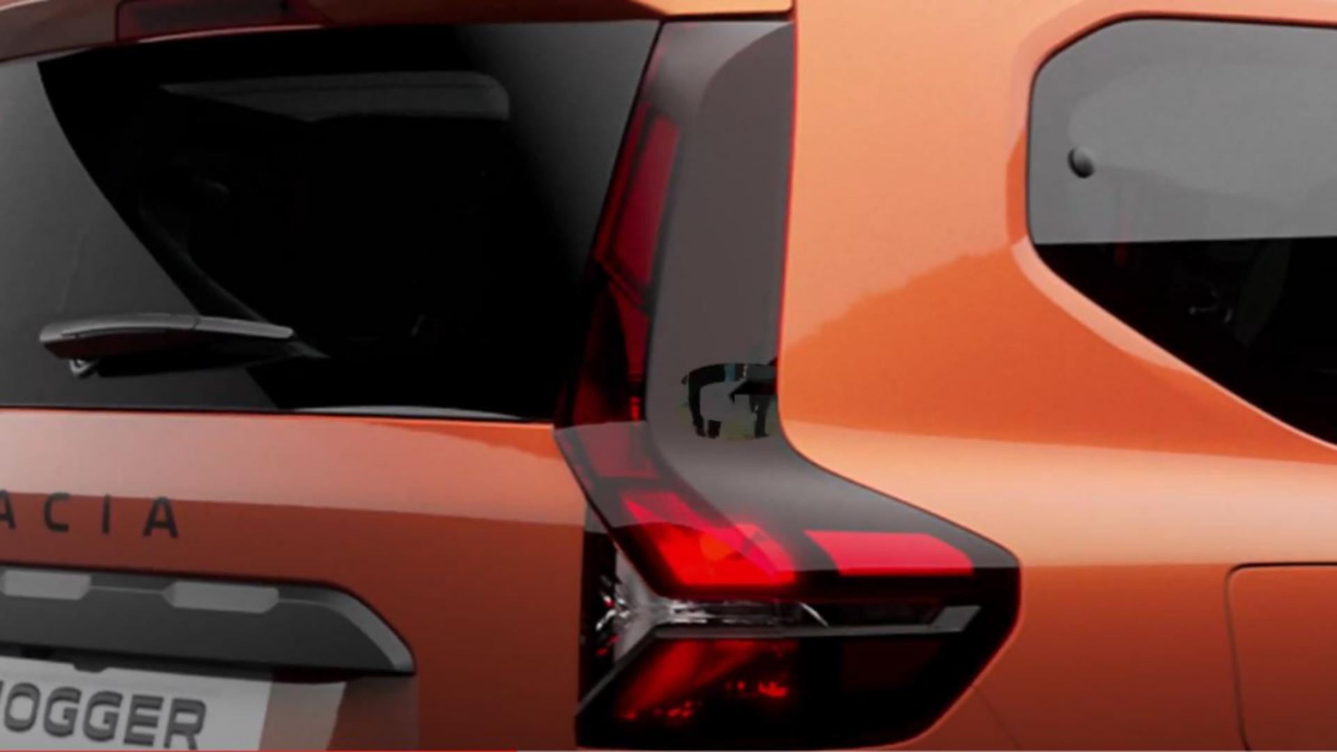 Jogger, modelul cu 7 locuri de la Dacia. Foto/Captura video
