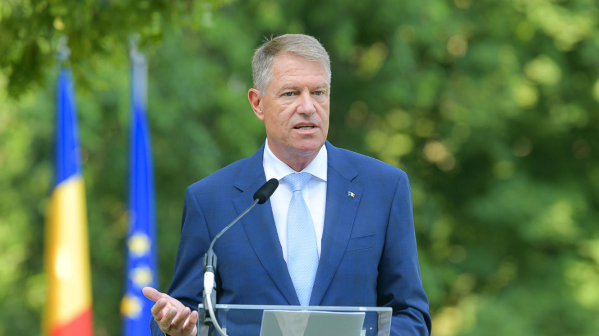 Klaus Iohannis, mutare de ultim moment: DECLARAȚII la Cotroceni, după picarea Guvernului Cîțu
