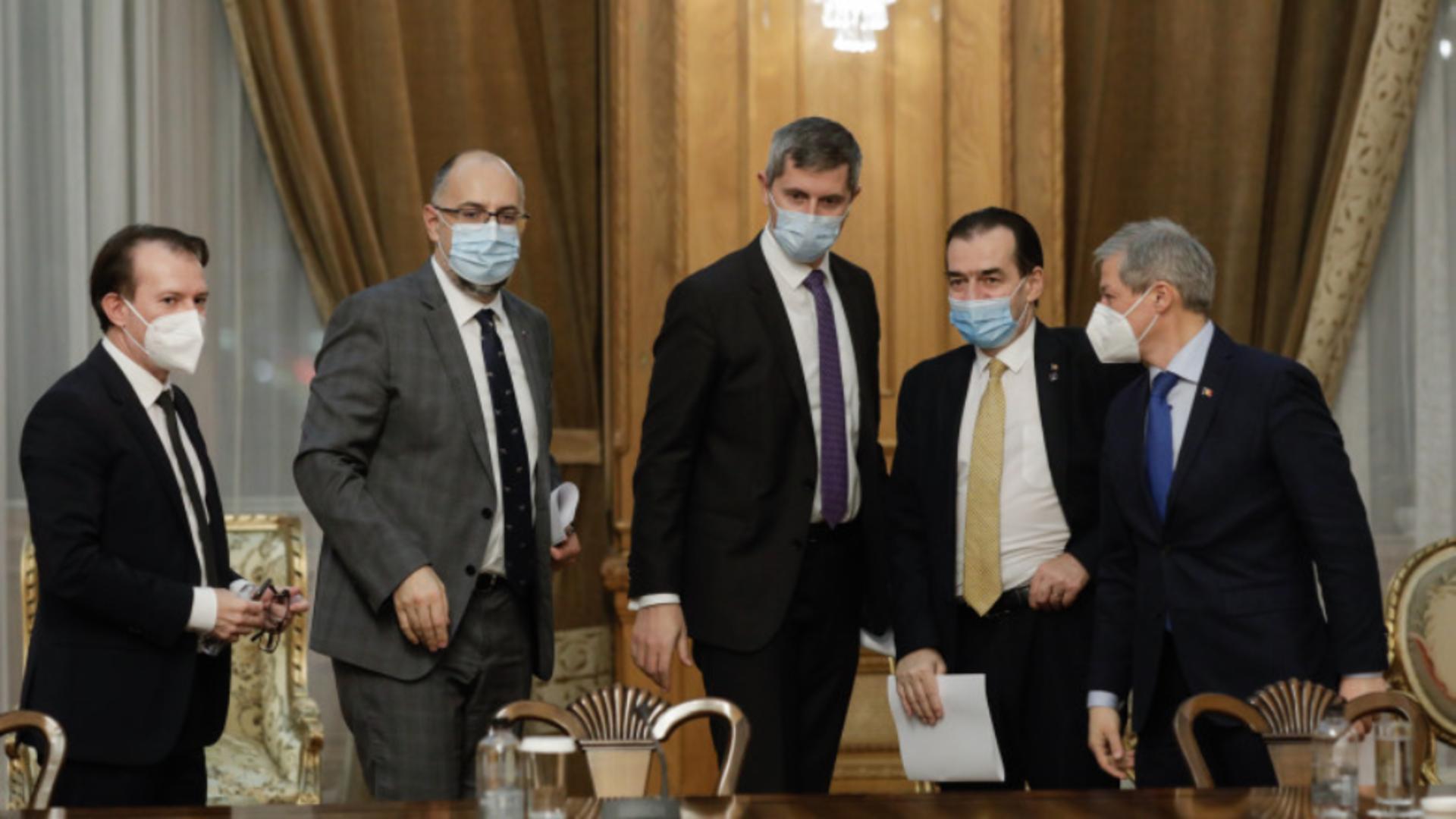 Ședință a coaliției de guvernare