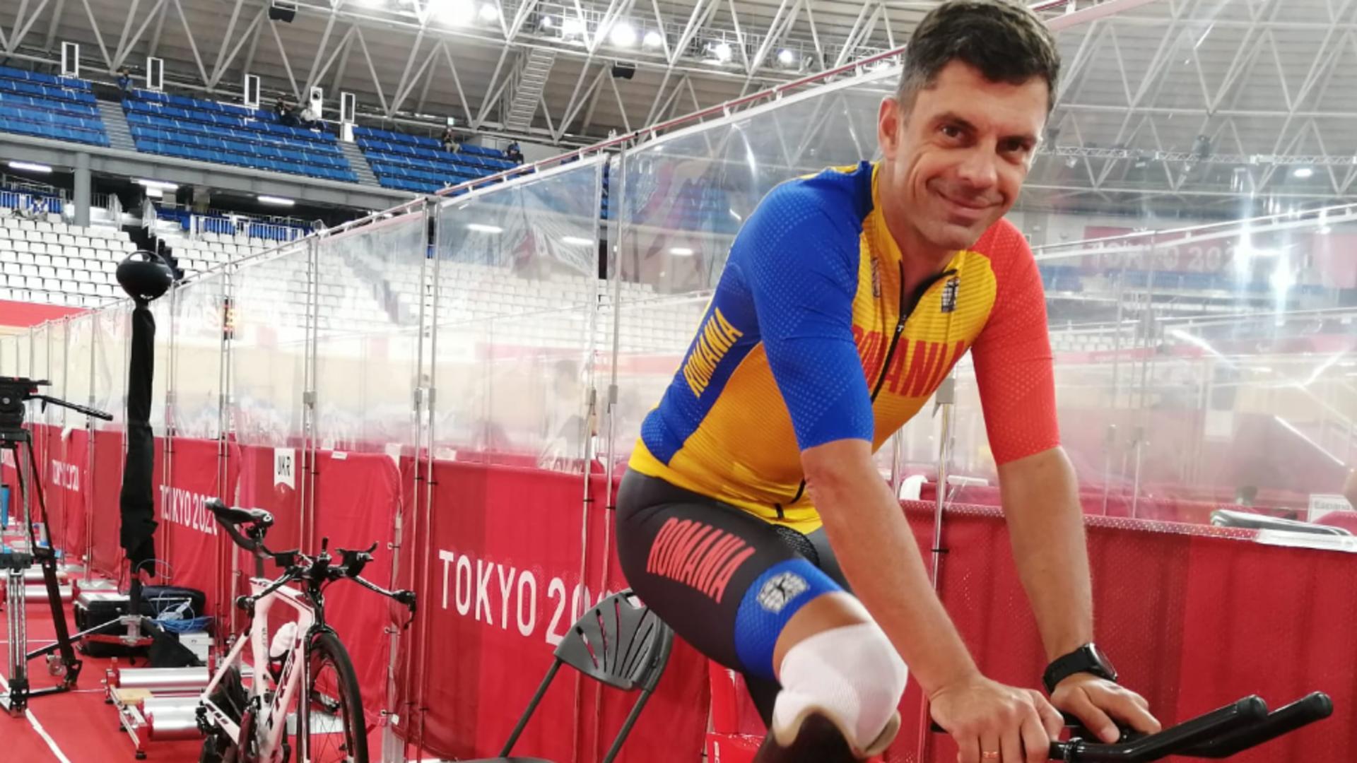 Ministrul Eduard Novak, o nouă performanță la Jocurile Paralimpice: Medalie de argint la ciclism