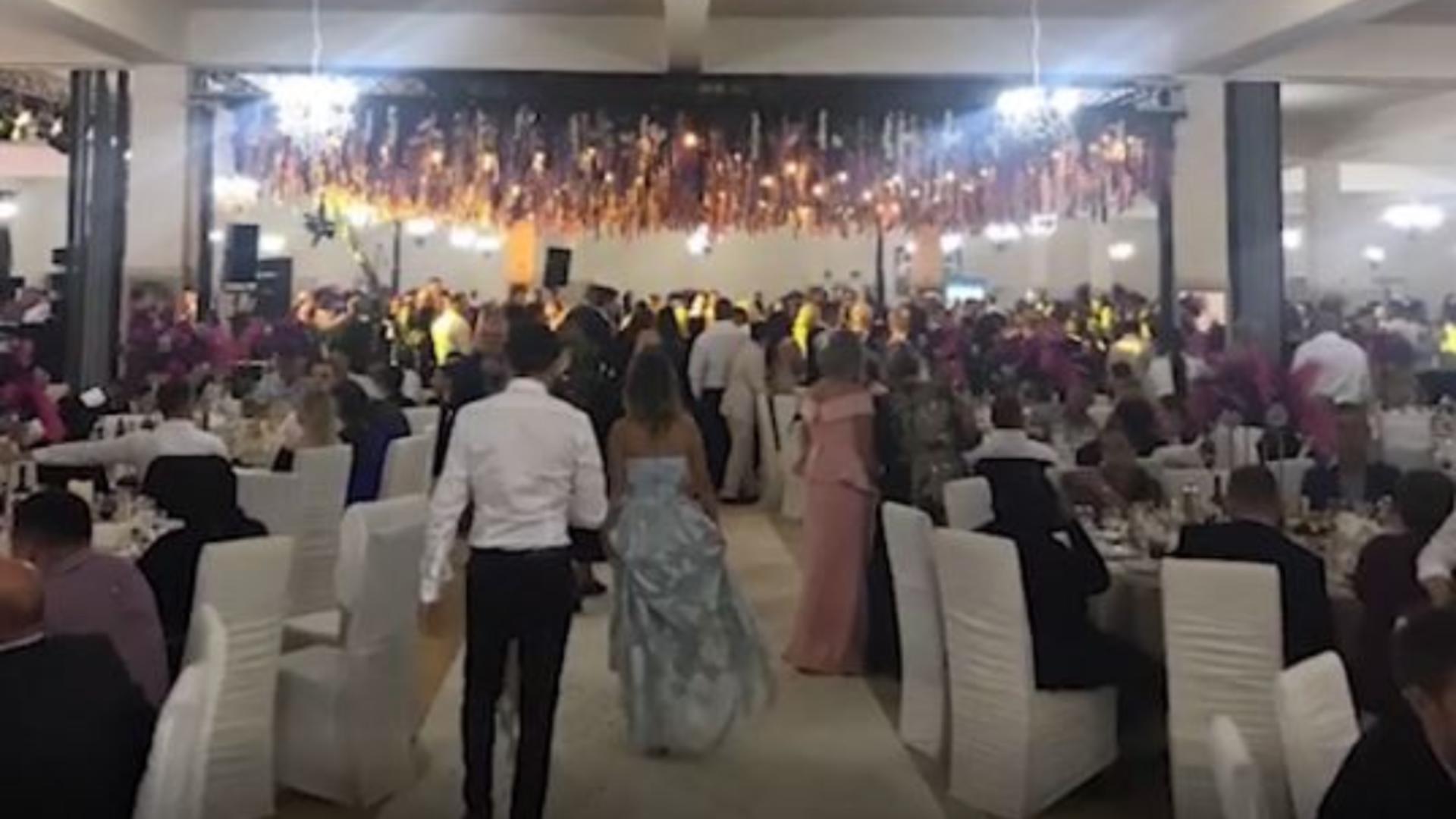 Nuntă cu peste 1700 de invitați
