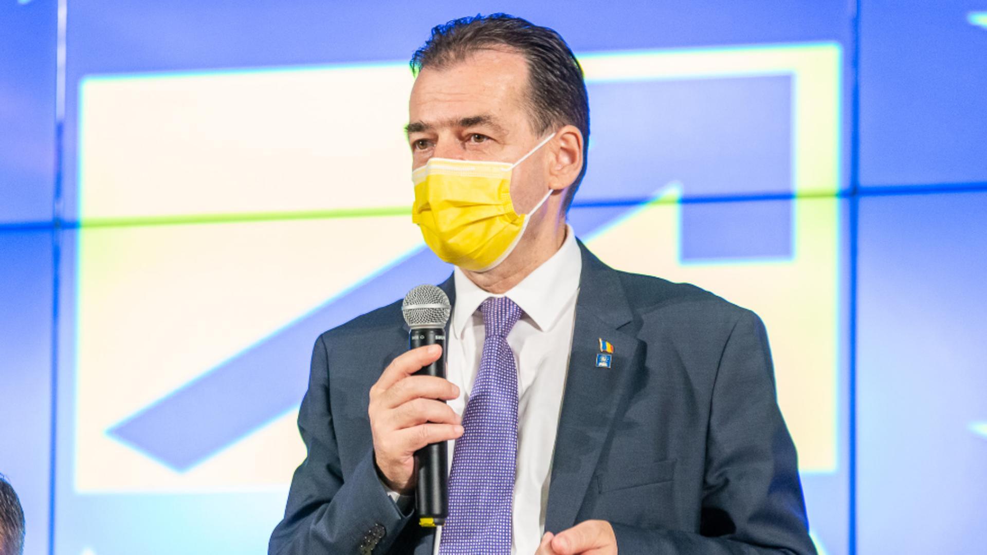 Ludovic Orban, președintele PNL