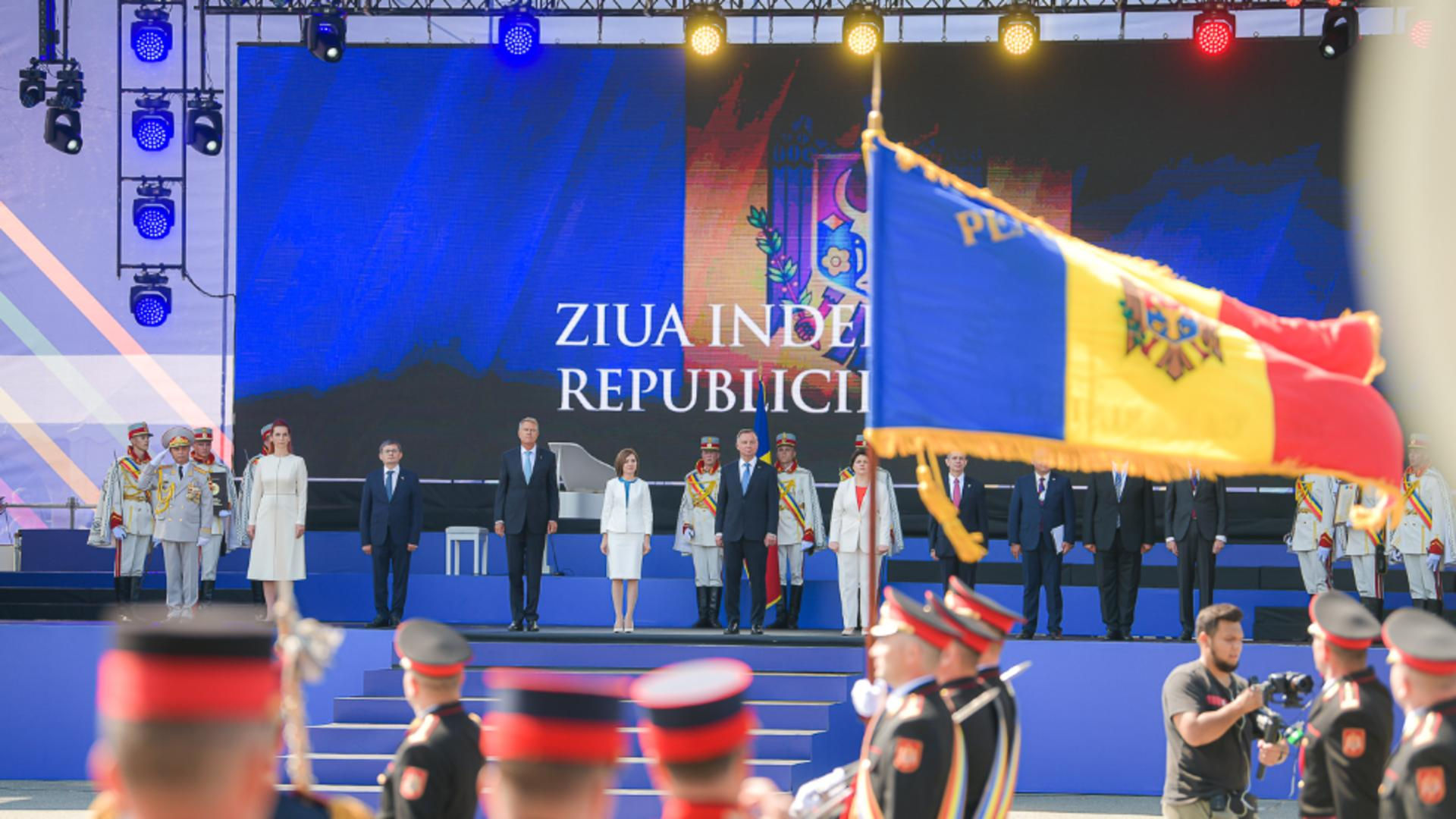 Klaus Iohannis, în vizită oficială la Chișinău / Foto: Administrația Prezidențială