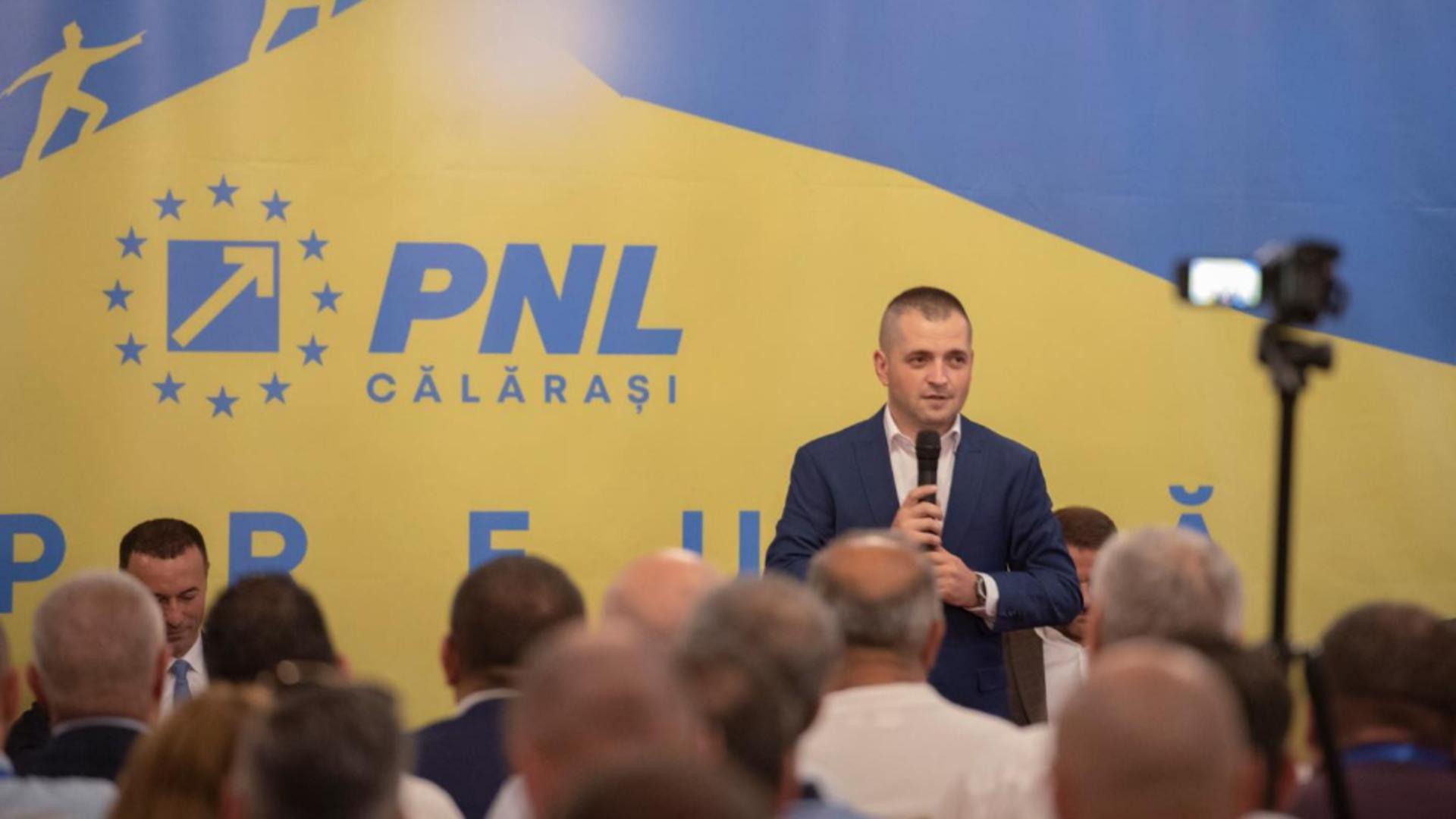 Ciprian Pandea, ultimul sosit din barca PSD în tabăra Cîțu. Foto/Facebook Pandea