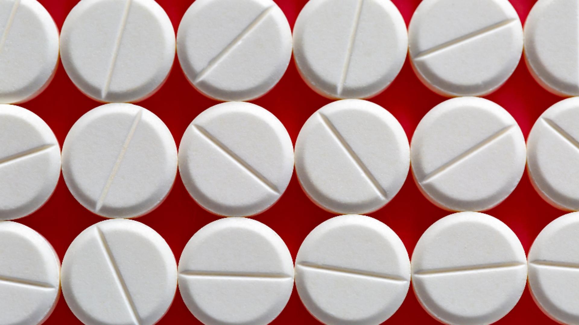 Aspirina, testată ca medicament pentru cancerul de sân / Foto: Profi Media