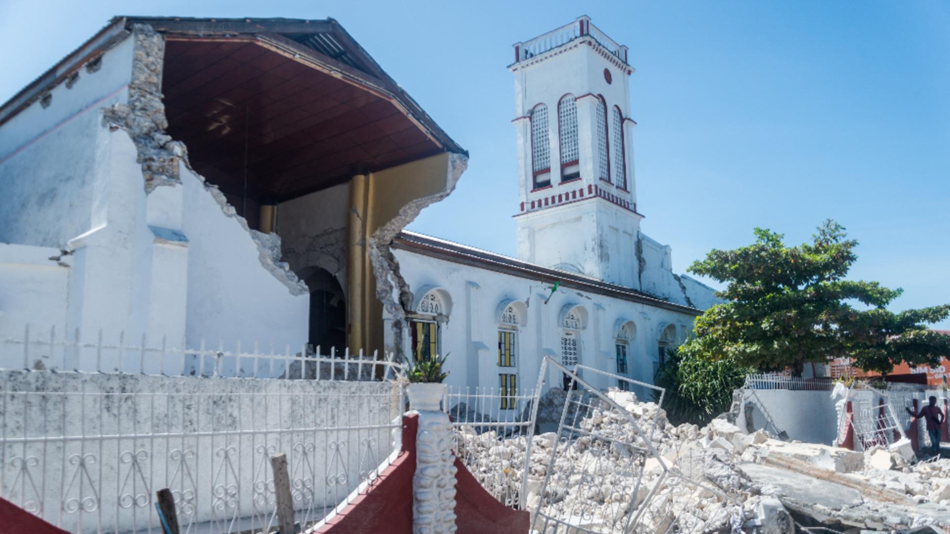 CUTREMUR devastator în Haiti / Foto: Profi Media