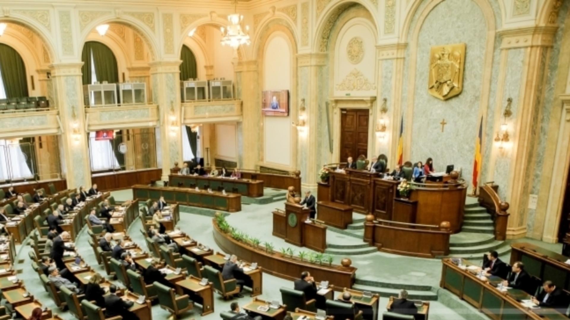 Senatul, convocat în sesiune extraordinară Foto: INQUAM/George Călin