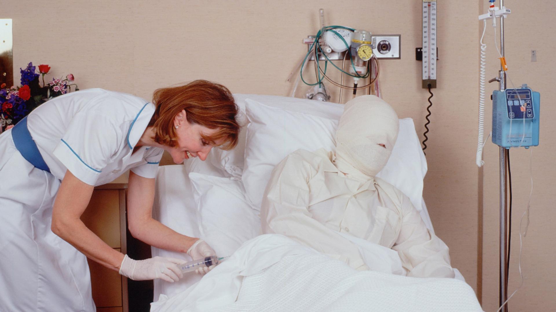Pacienții cu arsuri, concediu medical pe toată perioada tratamentului și recuperării. Foto/Profimedia