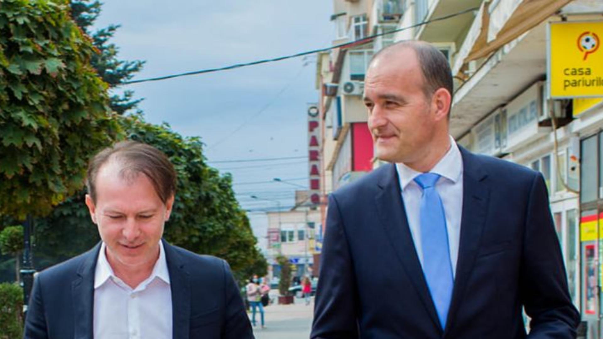 Florin Cîțu și Dan Vîlceanu