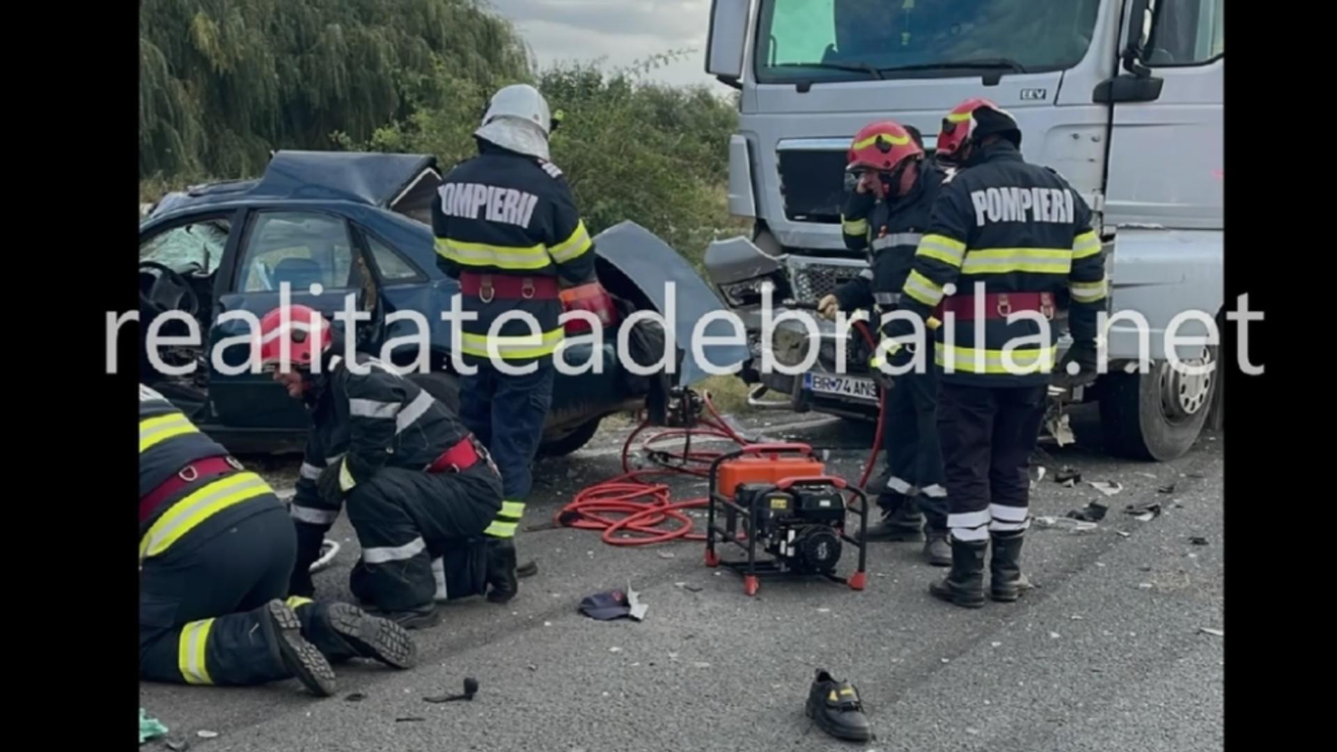 Accident rutier DE 584