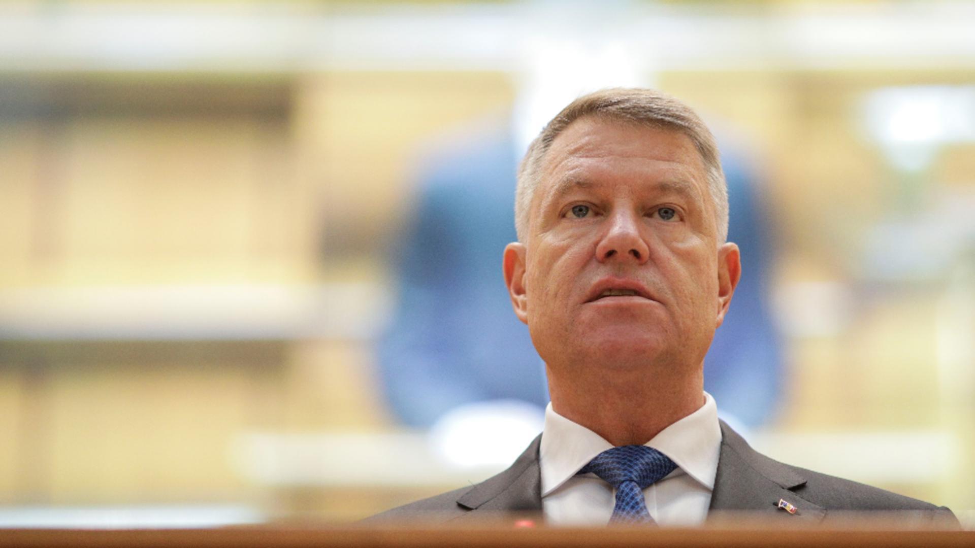 Klaus Iohannis. Foto: Inquam
