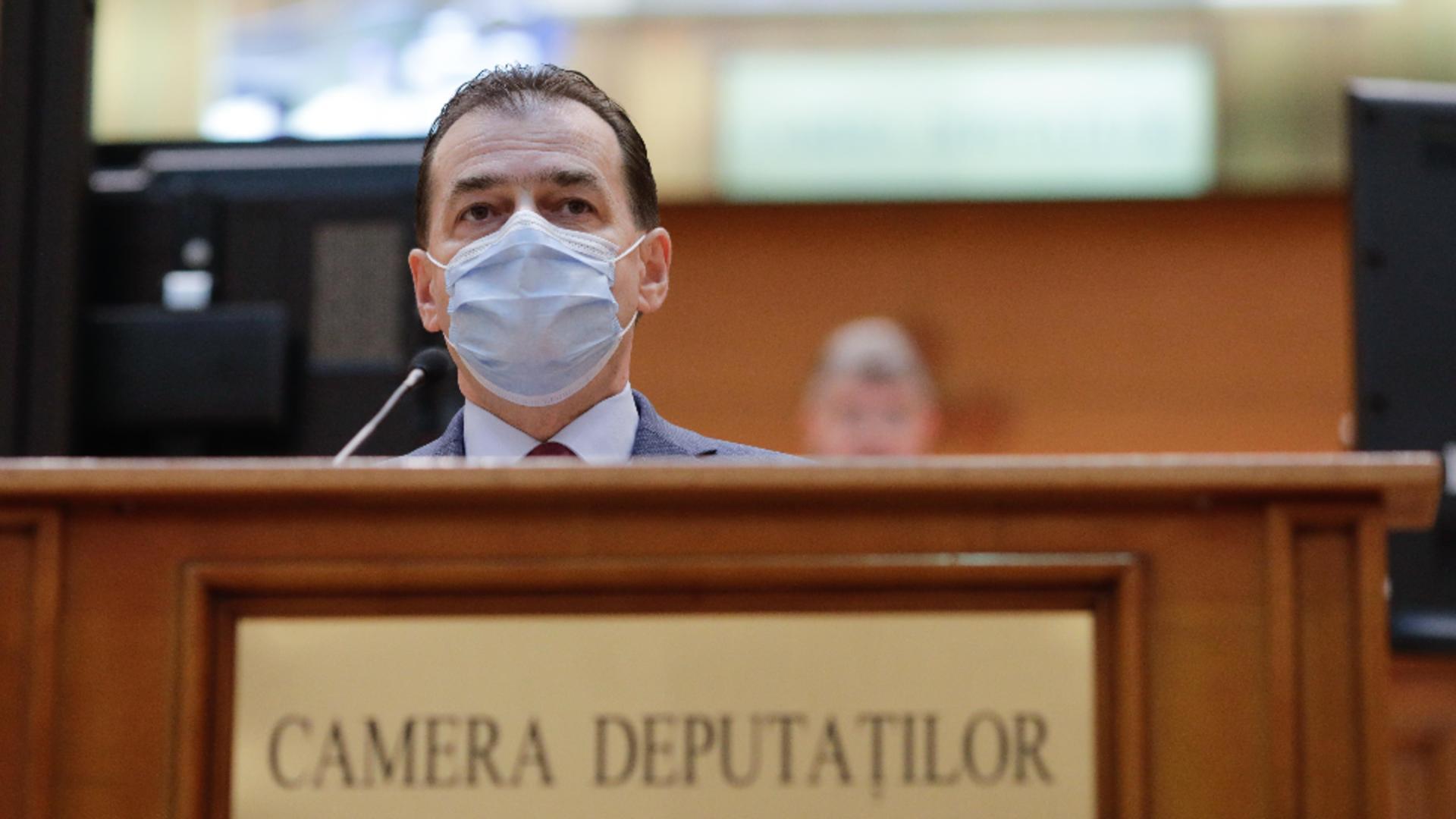 Ludovic Orban, președintele PNL / Inquam Photos/ George Calin