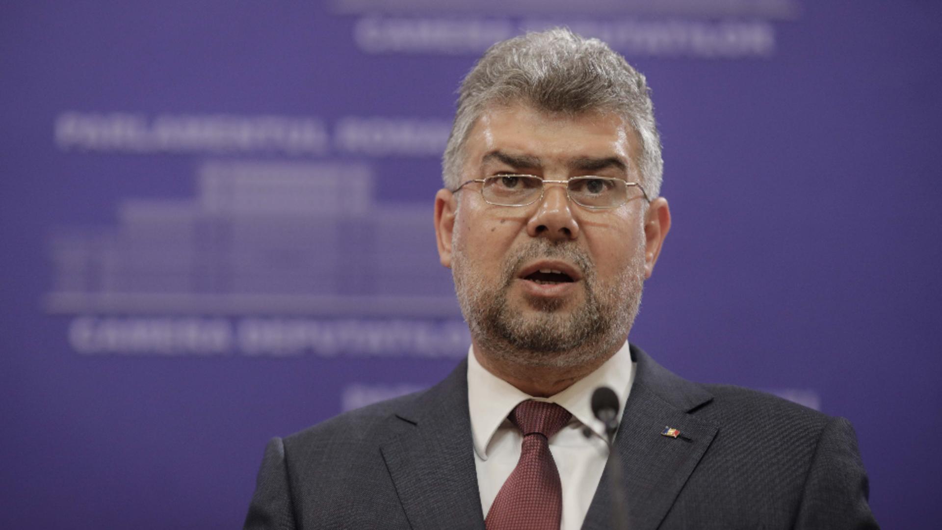 Marcel Ciolacu, președintele PSD / Inquam Photos / George Calin