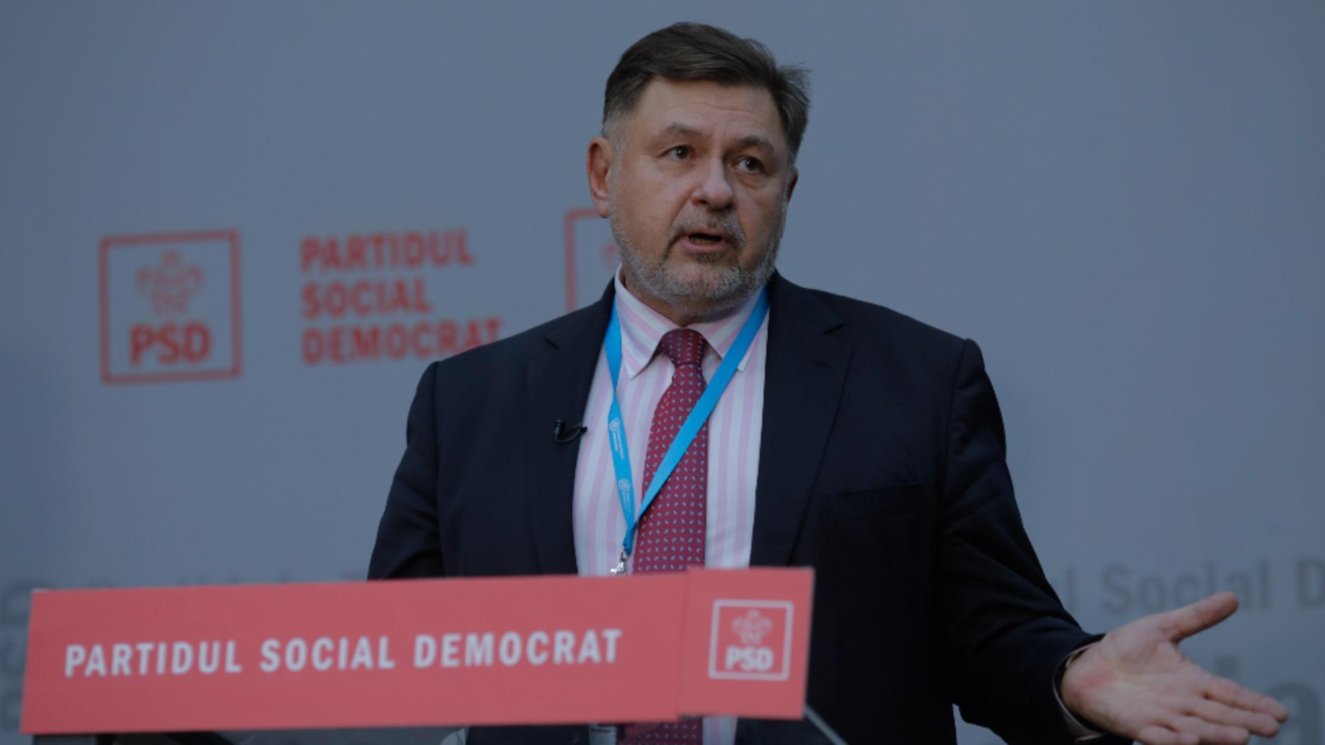 Alexandru Rafila, parlamentar PSD / Inquam Photos / George Calin