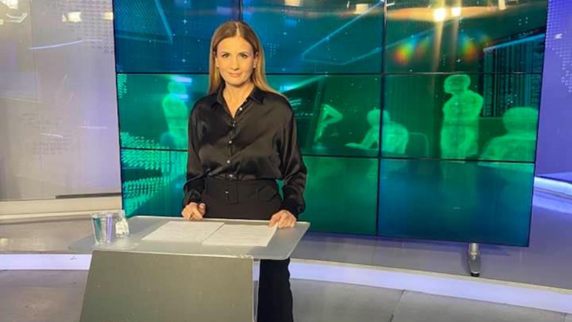 Anca Alexandrescu, jurnalist Realitatea PLUS / Foto: Facebook