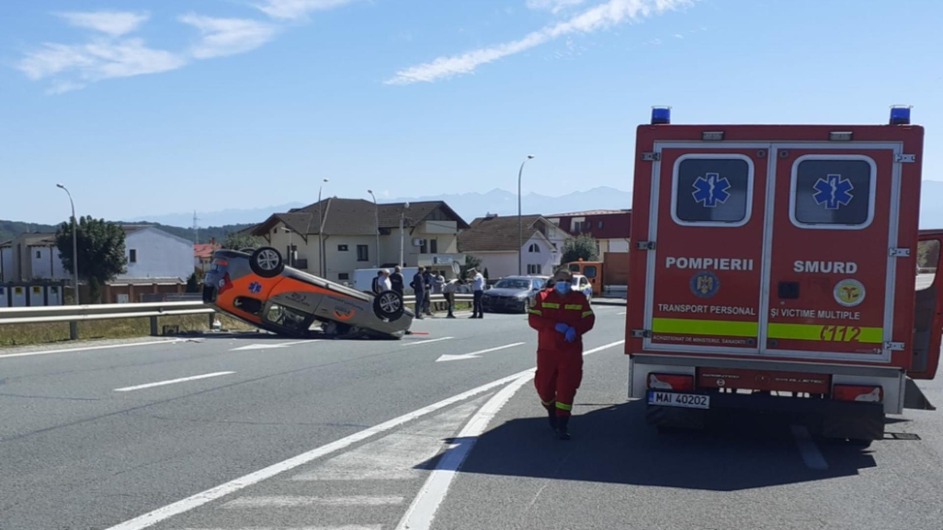 Accident rutier județul Sibiu