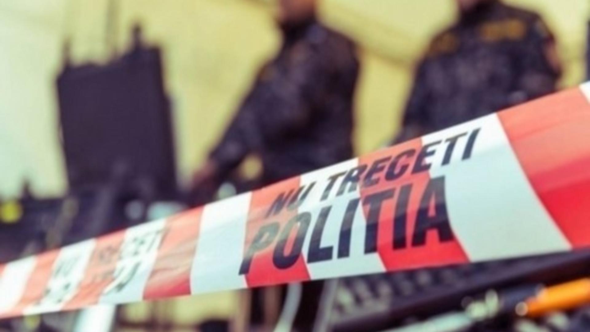 Anchetă poliție sinucidere Vaslui