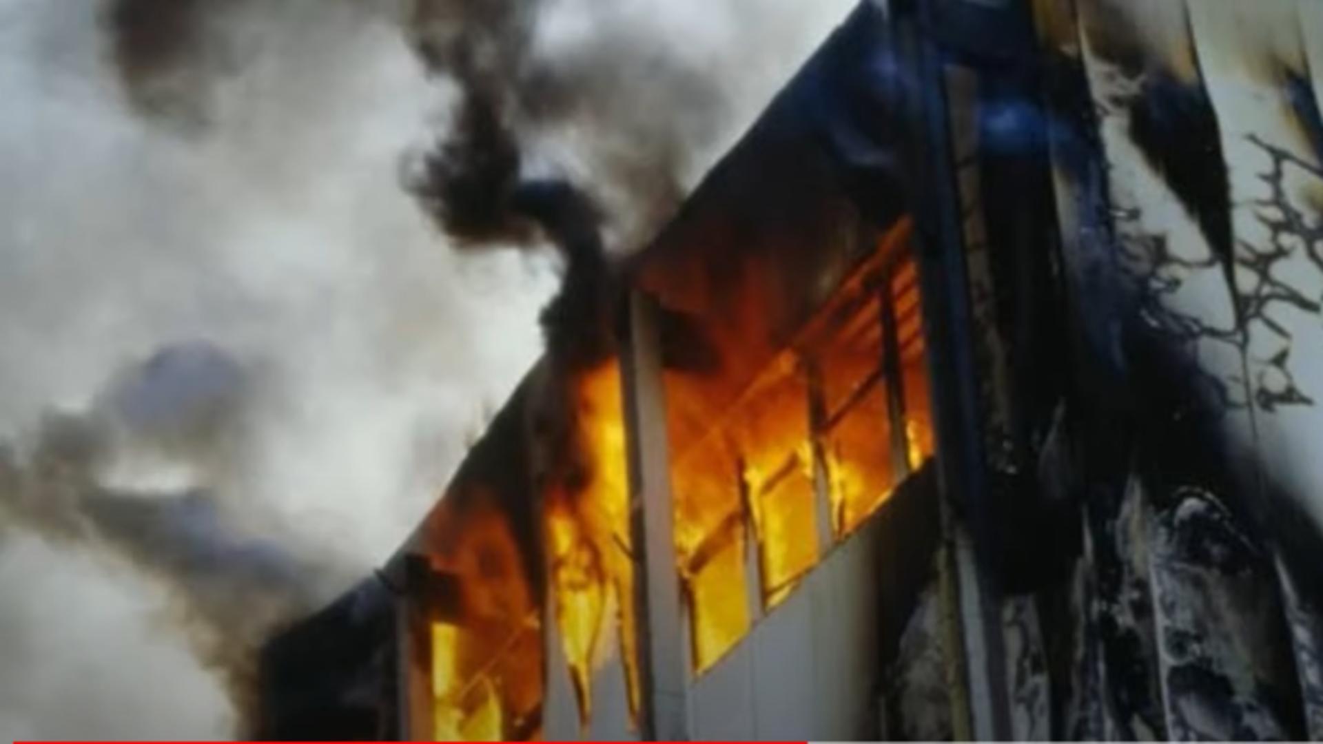 Incendiu Indonezia. Foto: captură YouTube