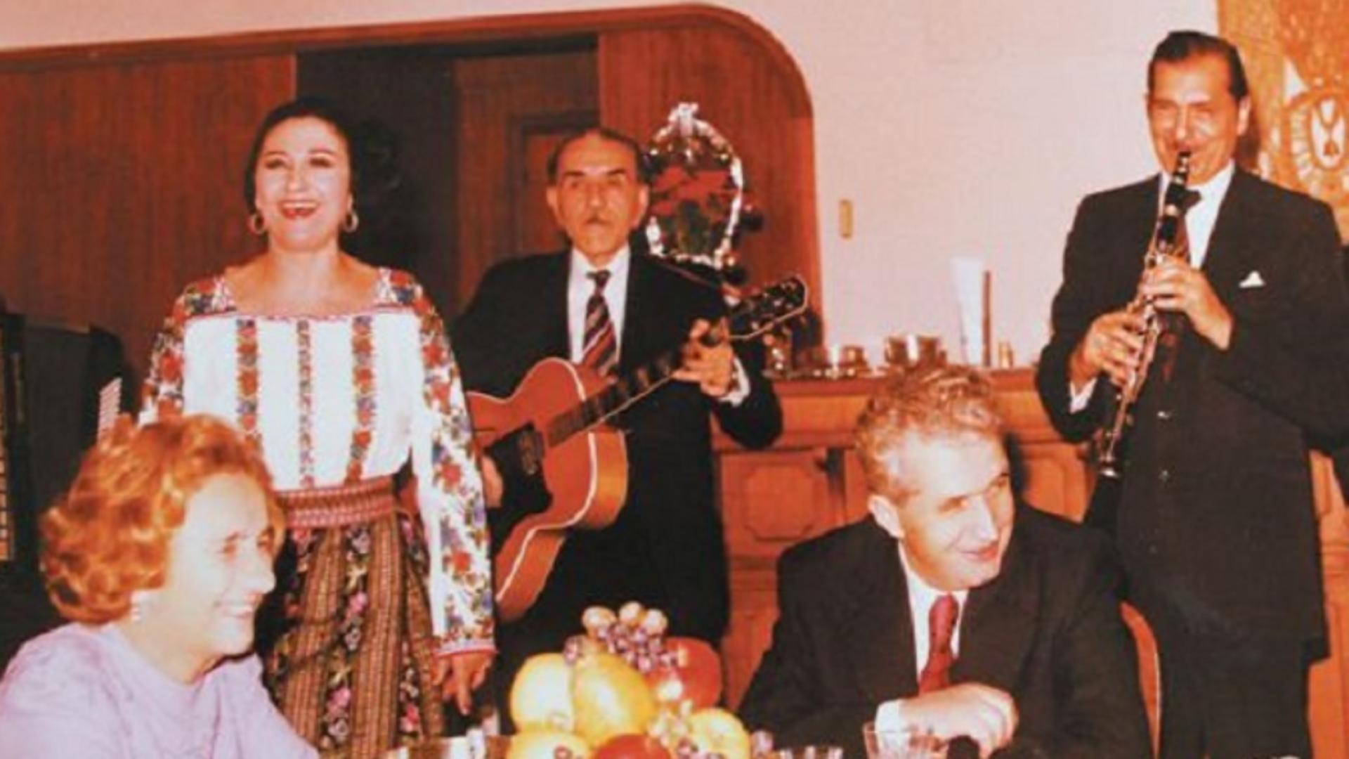 Soții Ceaușescu