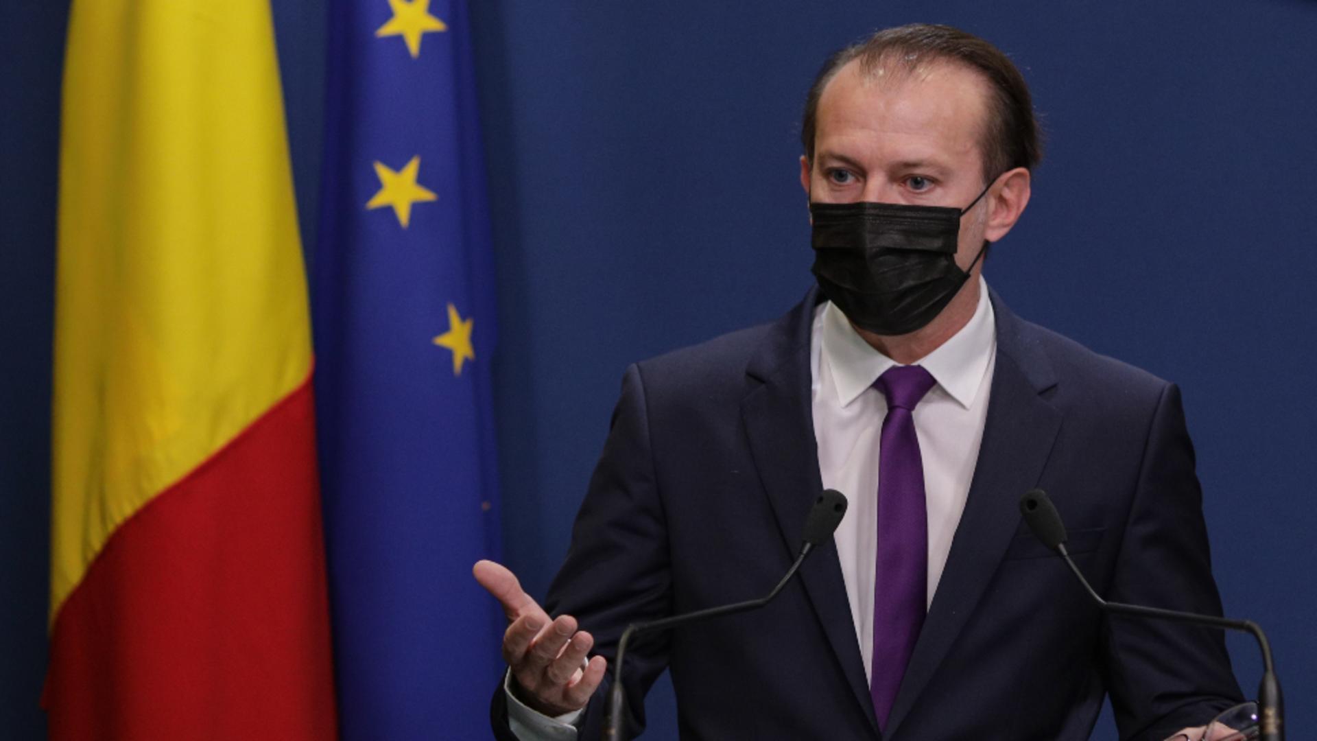 Florin Cîțu, prim-ministrul României / Foto: Inquam Photos / Octav Ganea