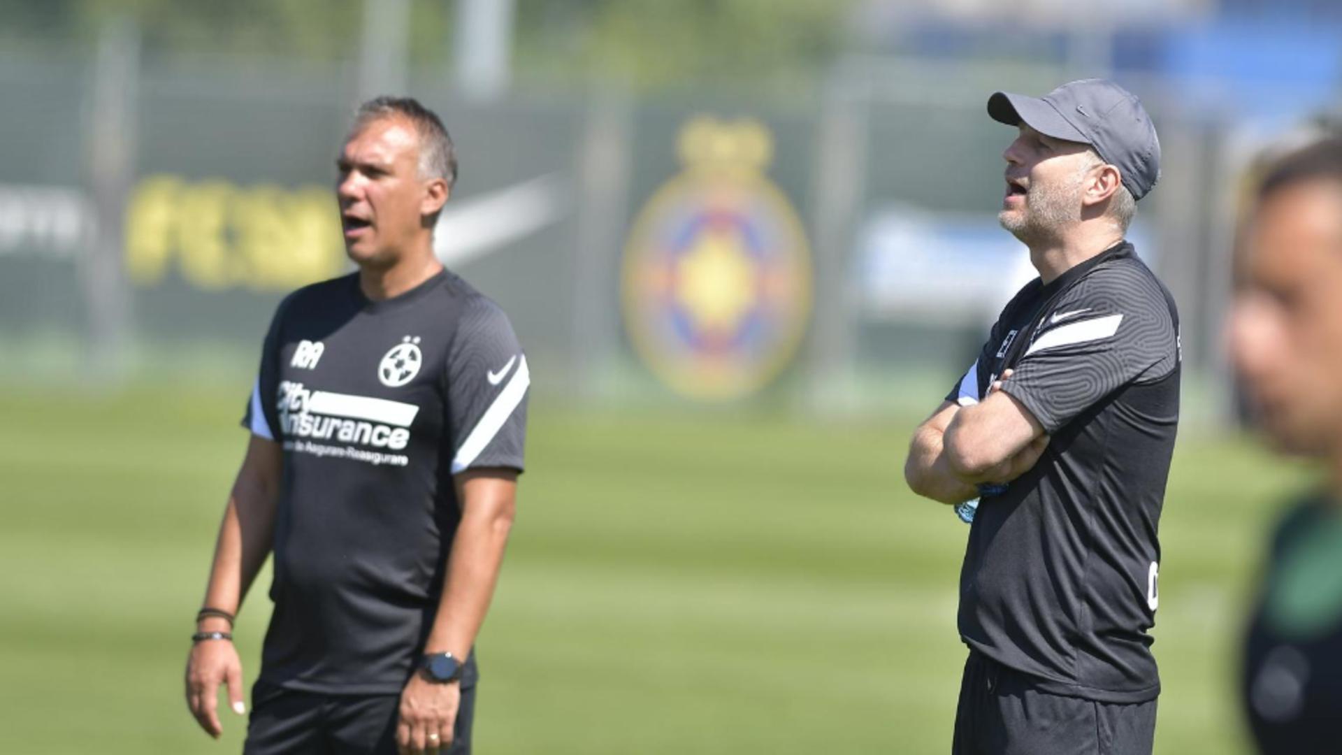 Edi Iordănescu renunță la doi fotbaliști de la FCSB! Despre cine este vorba