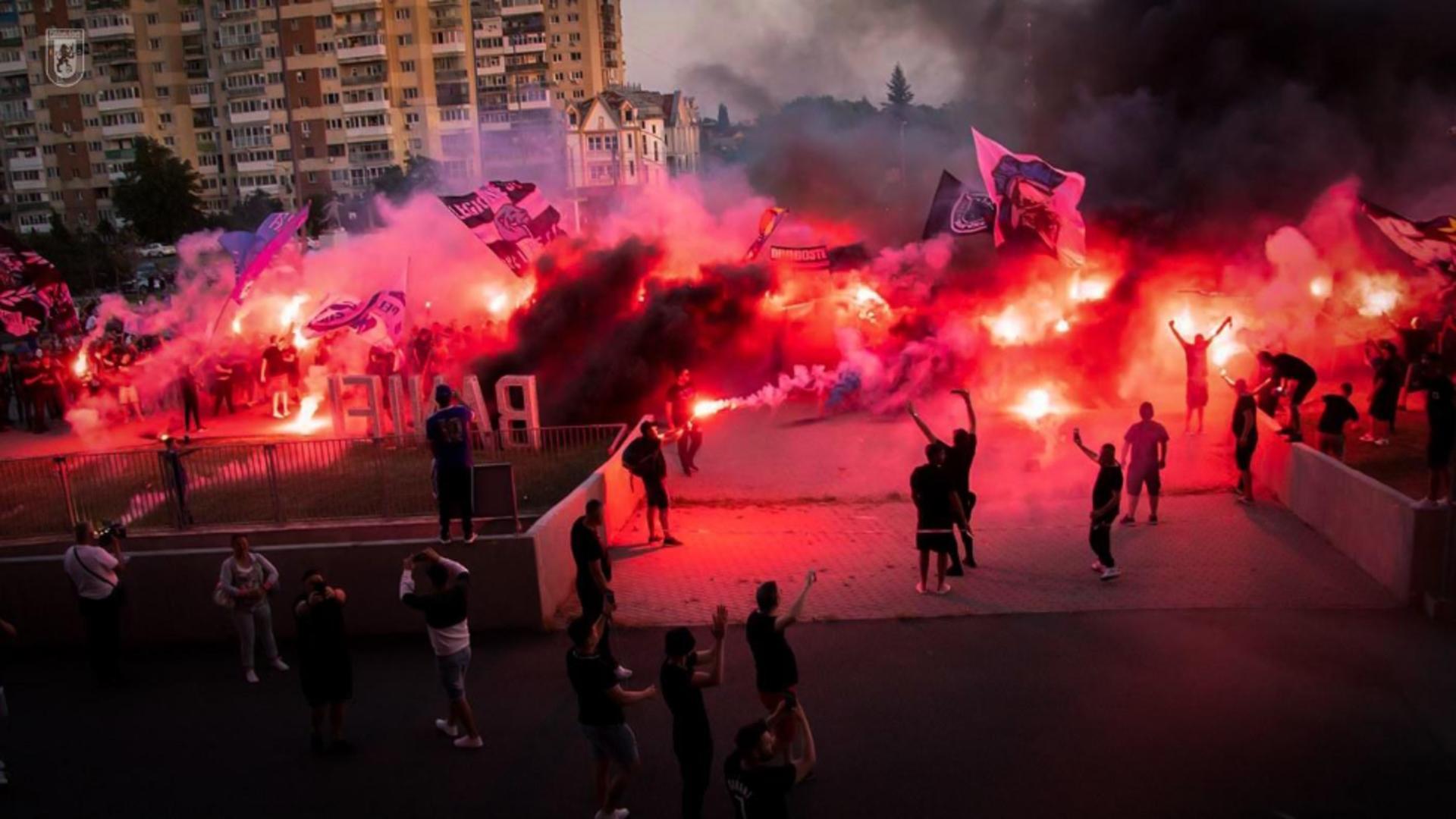 Suporteri FC U Craiova