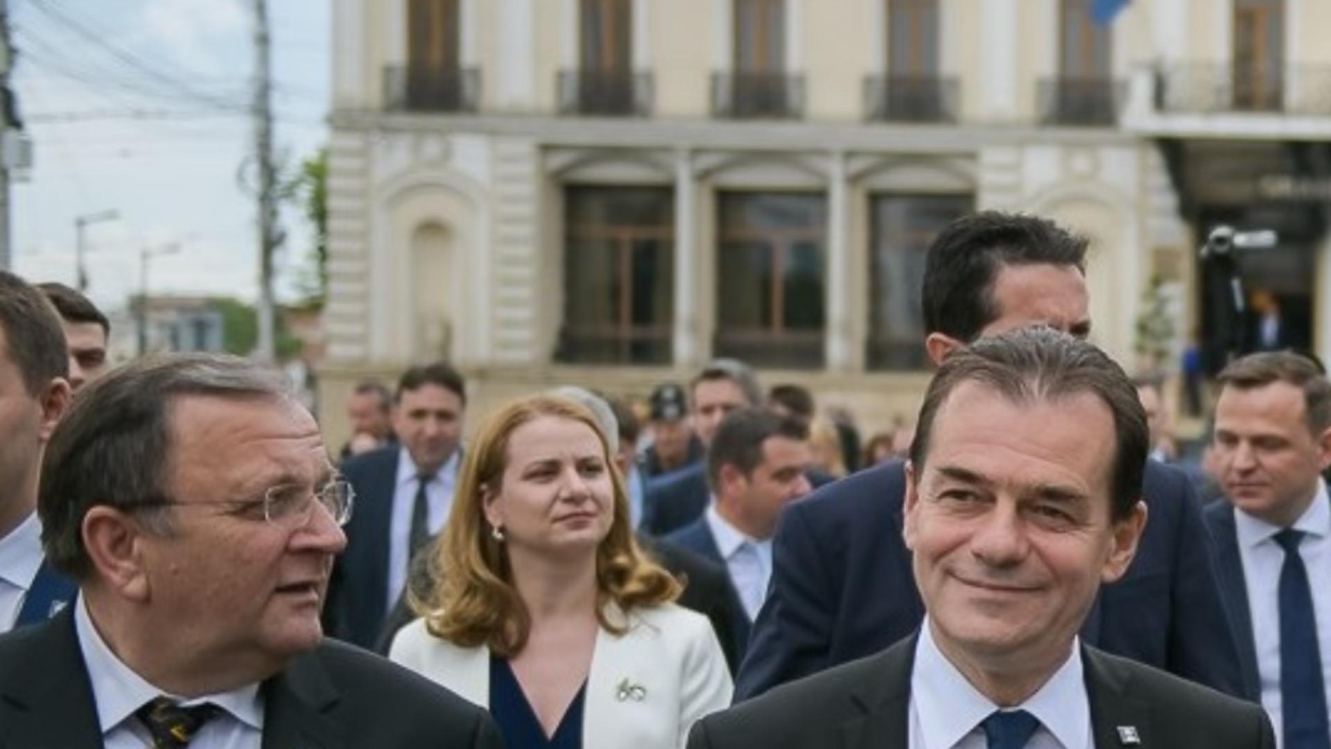 Gheorghe Flutur și Ludovic Orban (arhivă)