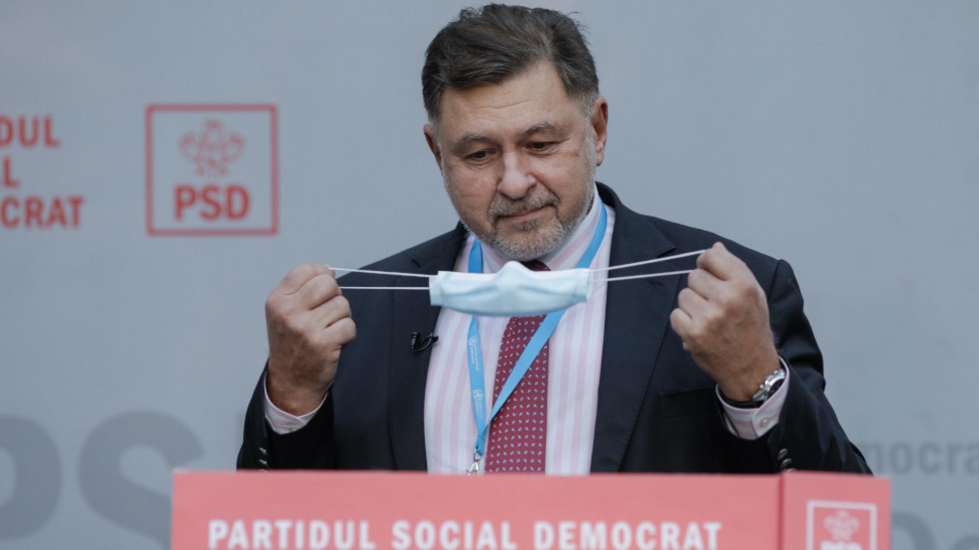 Medicul Alexandru Rafila, deputat PSD Foto: INQUAM/George Călin