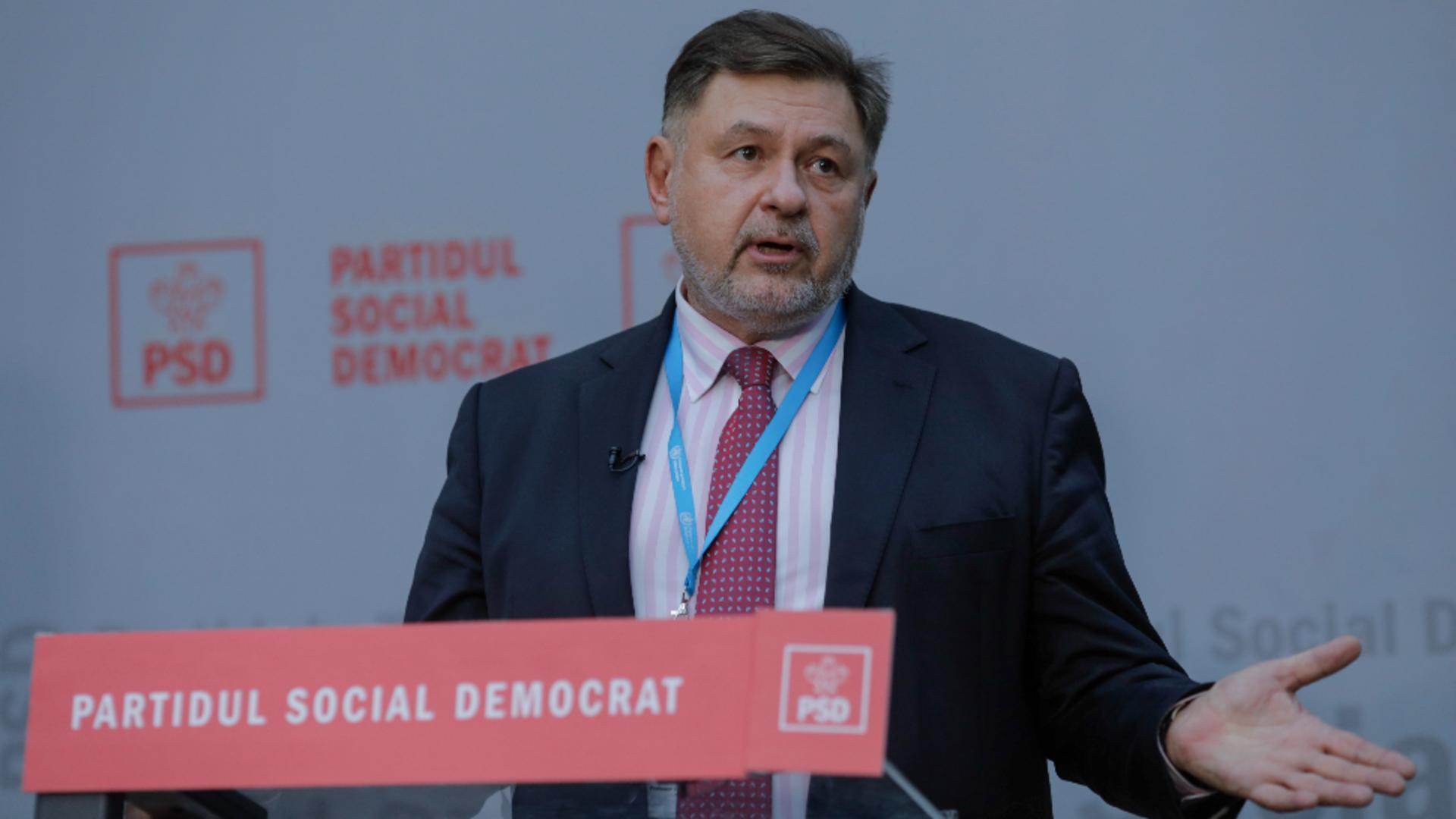 Alexandru Rafila, deputat PSD Foto: INQUAM/George Călin