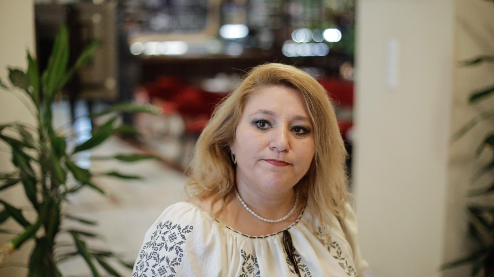Diana Șoșoacă, senator afiliat Foto: INQUAM/George Călin