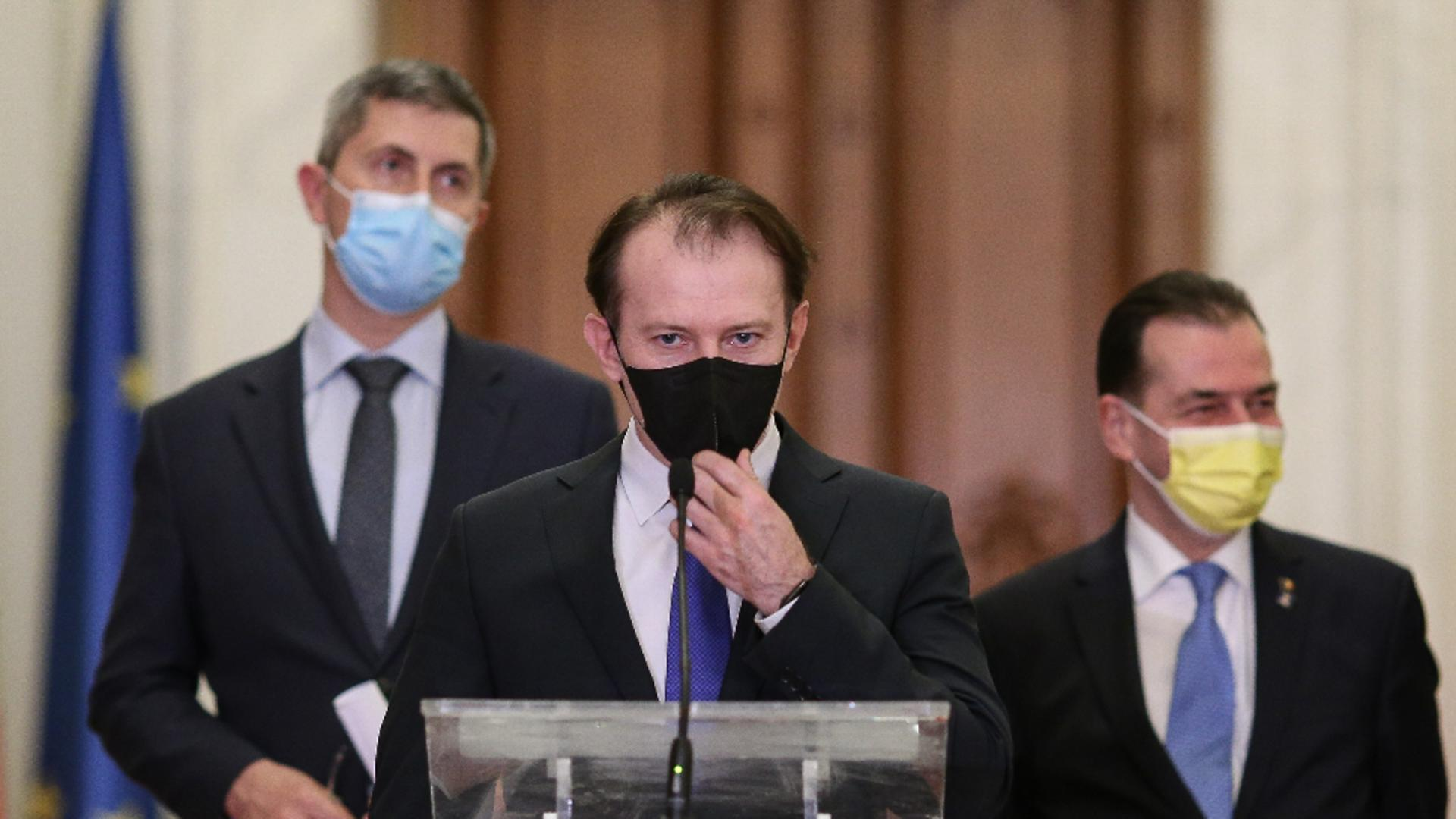 Surse: Cîțu va demite miniștrii USR dacă susțin moțiunea / Foto: Inquam Photos