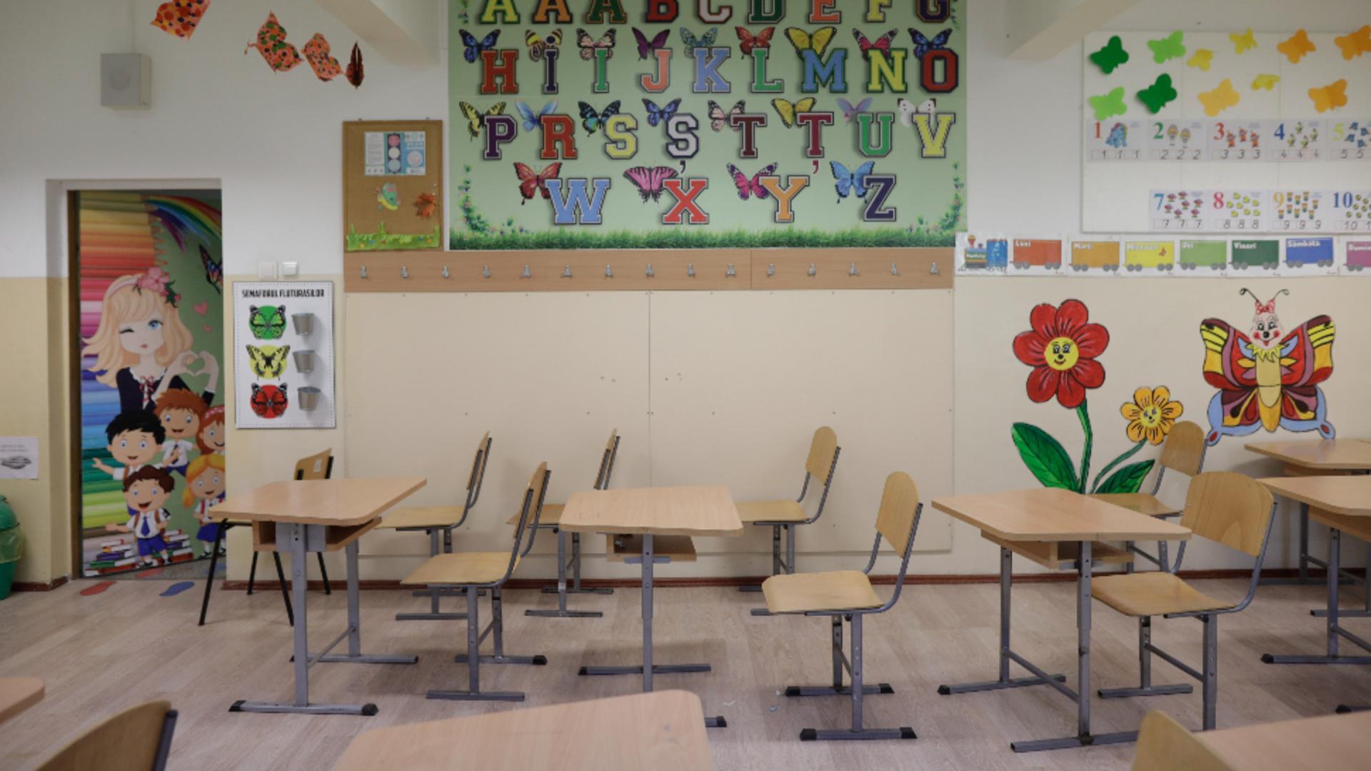 Astăzi începe noul an școlar: prezența fizică în aproape toată țara / Foto: Inquam Photos