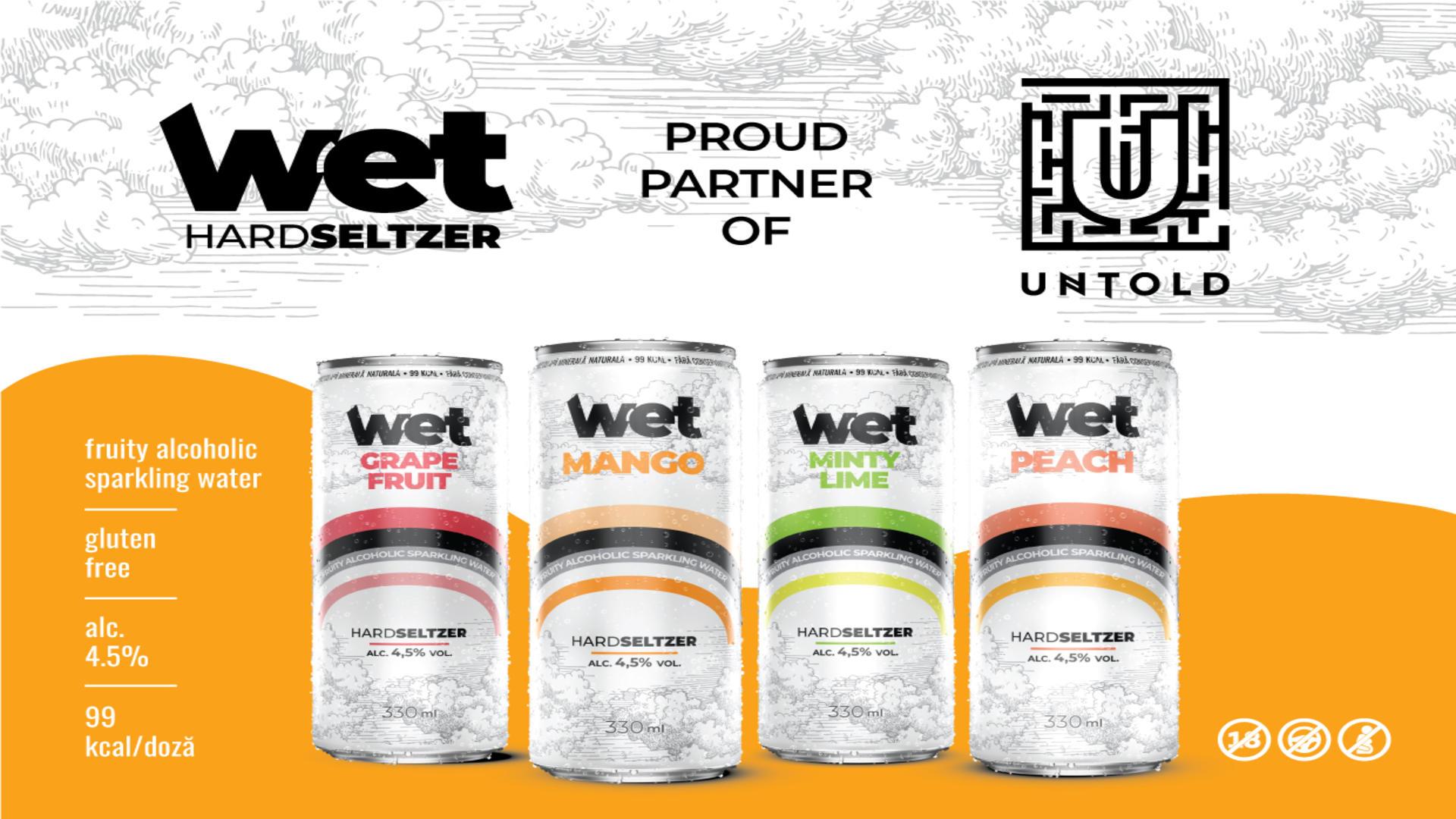 Valvis Holding lansează Wet, primul Hard Seltzer fabricat în România după o rețetă proprie