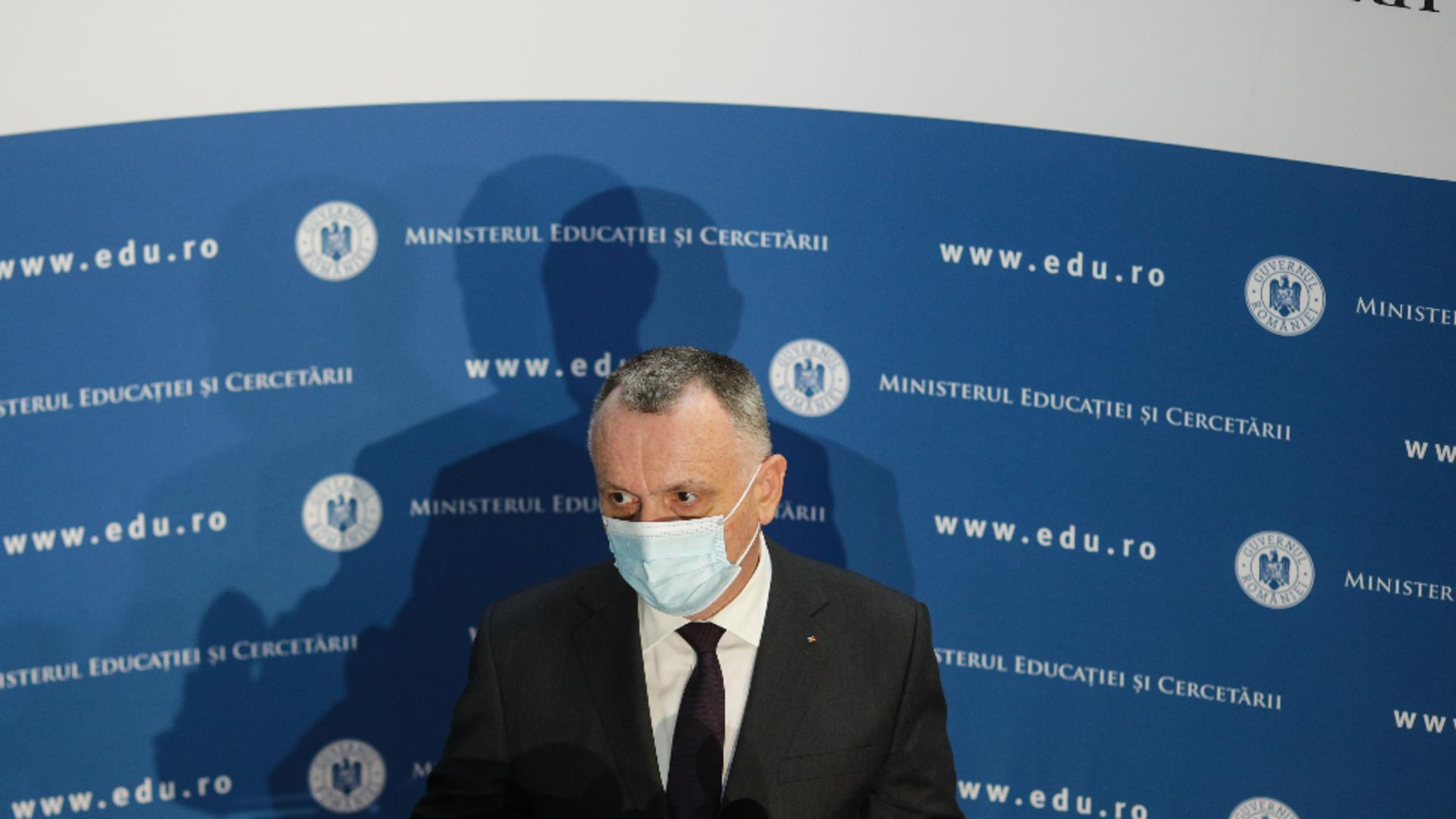 Sorin Câmpeanu, ministrul Educației / Foto: Inquam / Octav Ganea