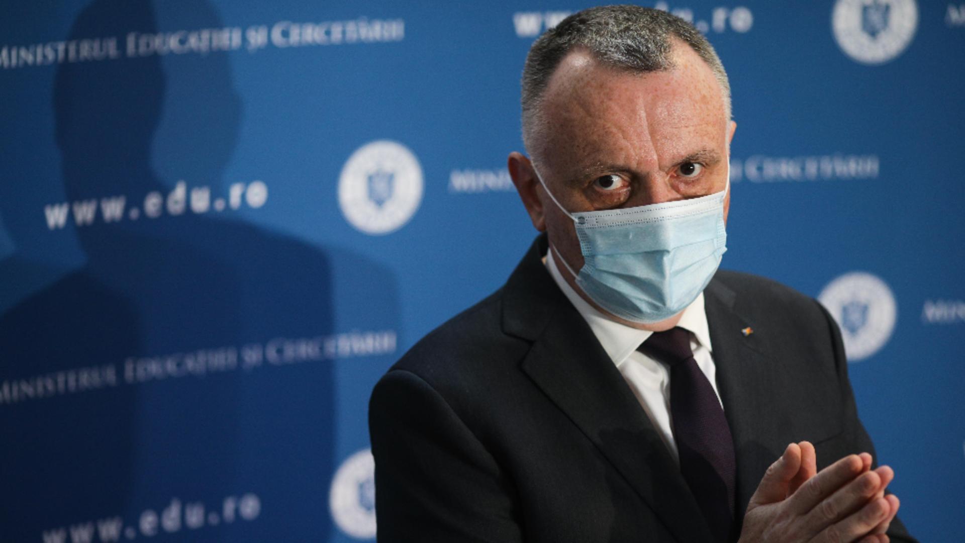 Sorin Cîmpeanu, ministrul Educației / Foto: Inquam / Octav Ganea