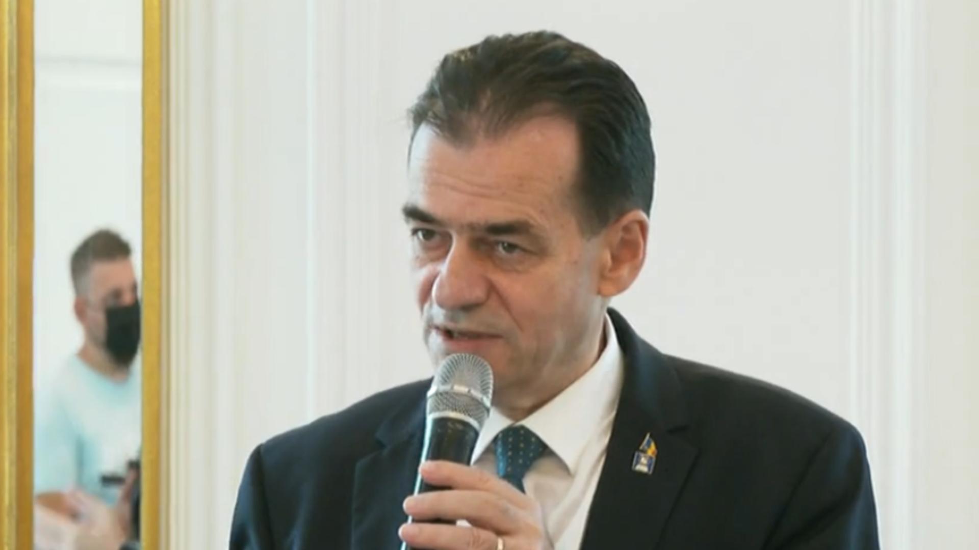 Ludovic Orban la Caras-Severin