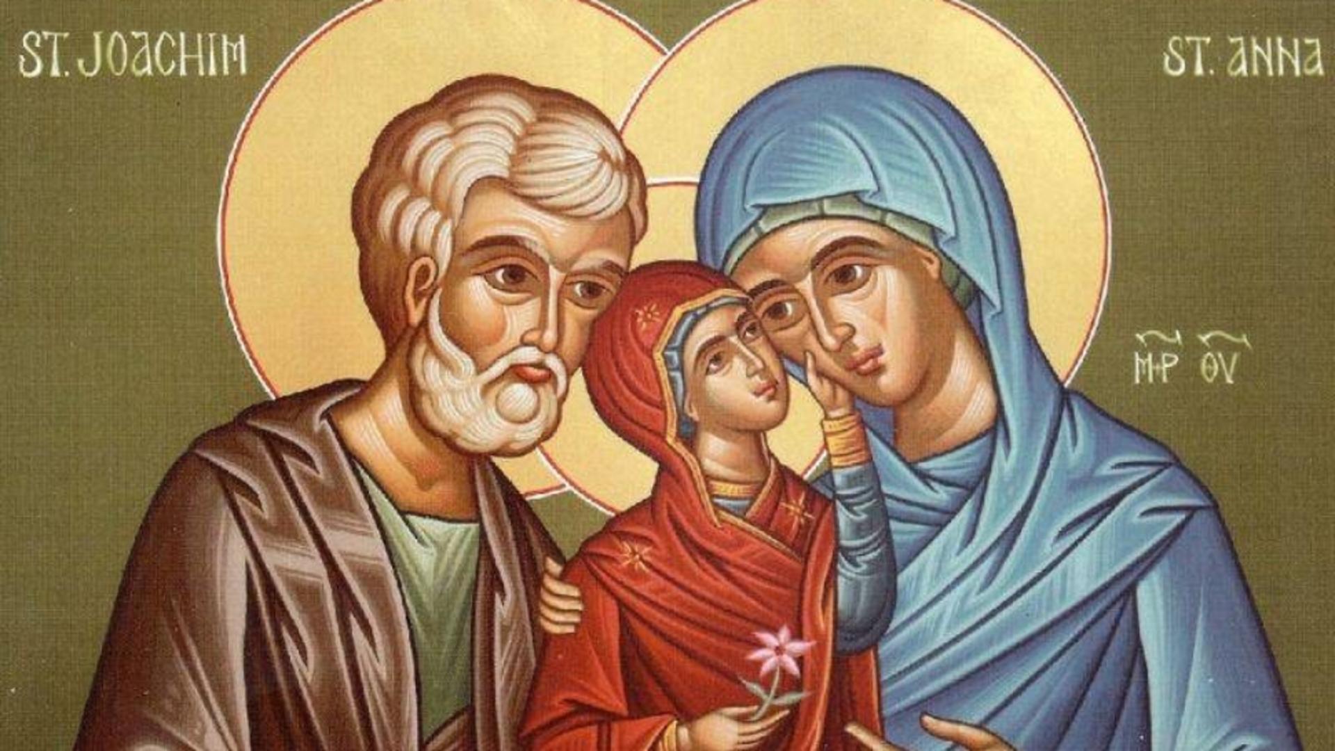 Sfinții Părinţi Ioachim şi Ana