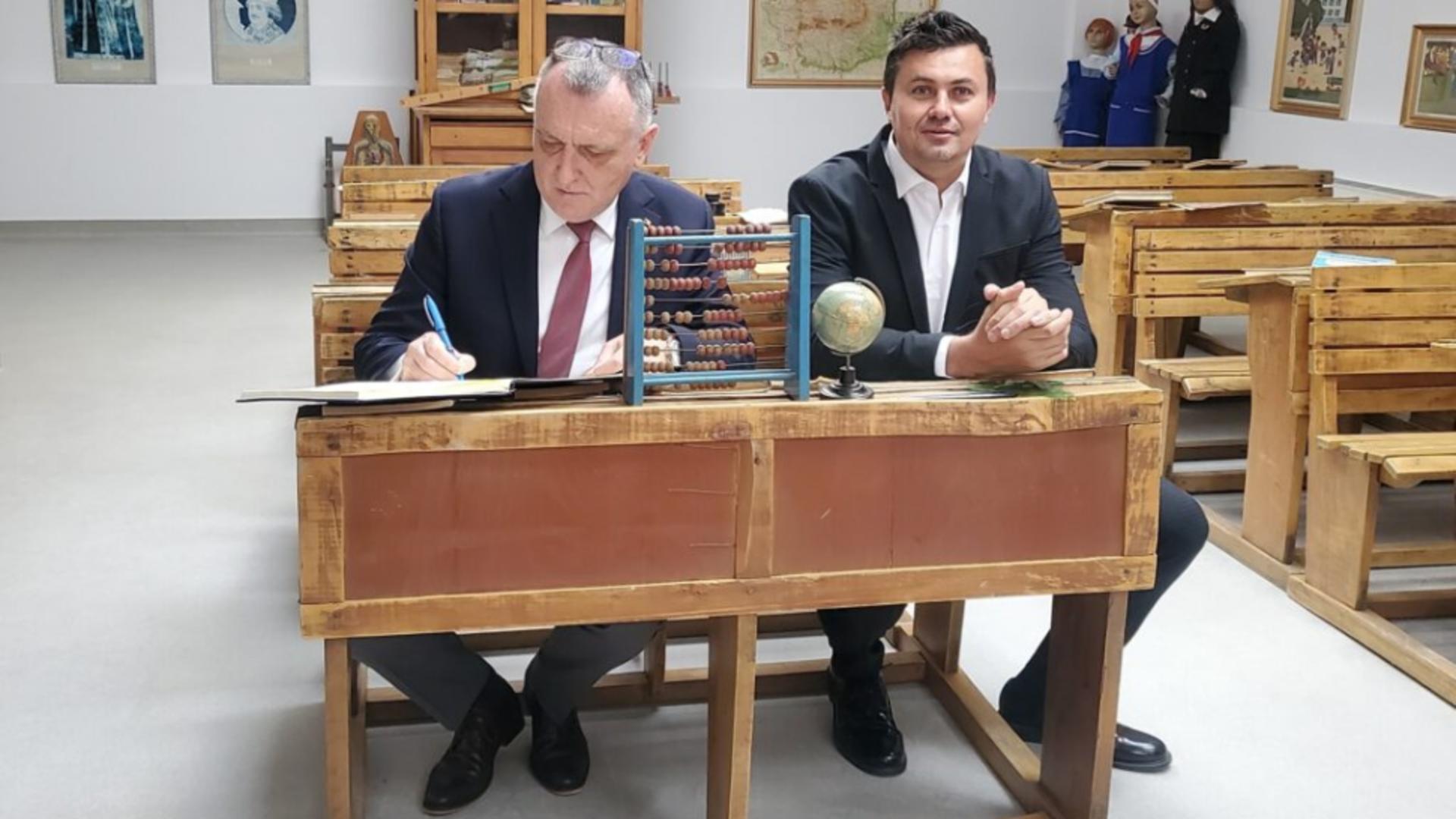Silviu Iordache, noul director ARACIP, numit de ministrul Sorin Cîmpeanu Foto: Facebook.com