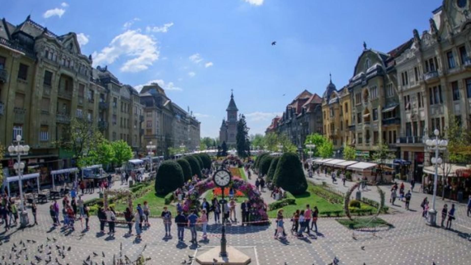 Timișoara, centrul orașului