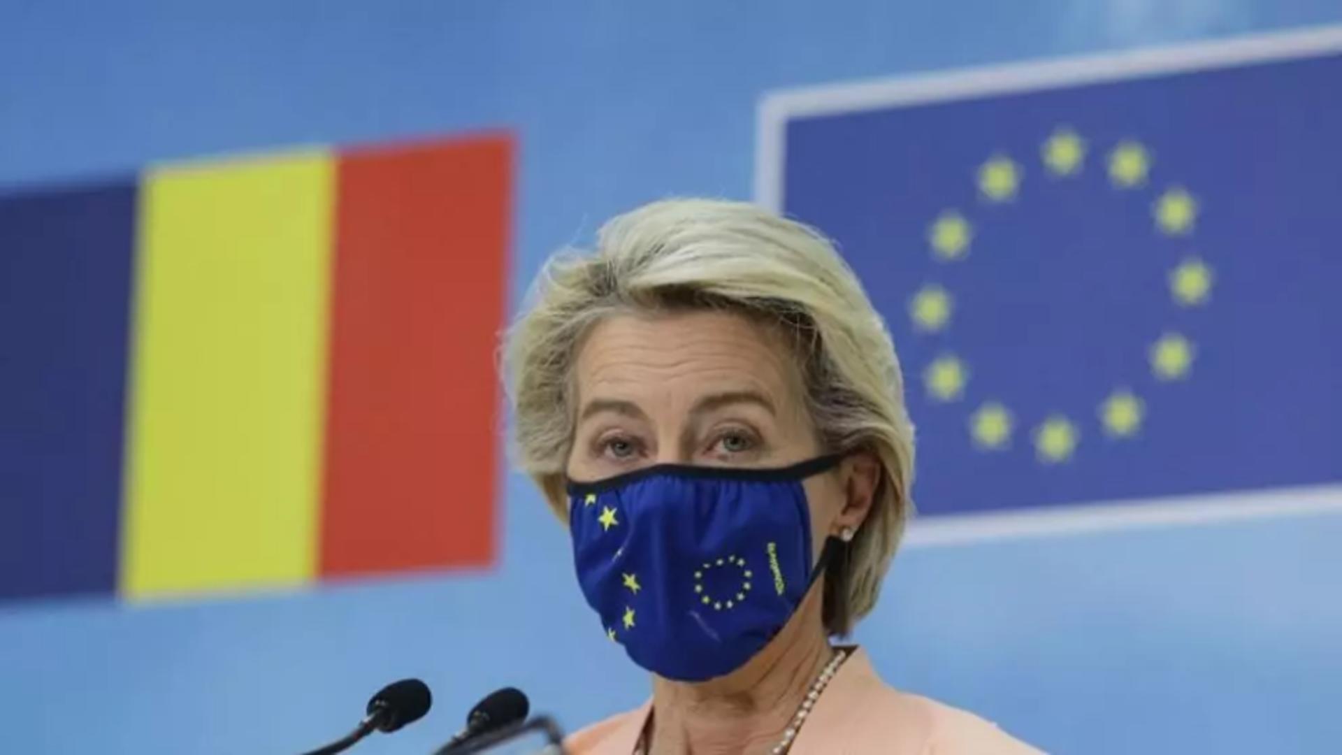 Ursula von der Leyen. Foto: Inquam / Octav Ganea
