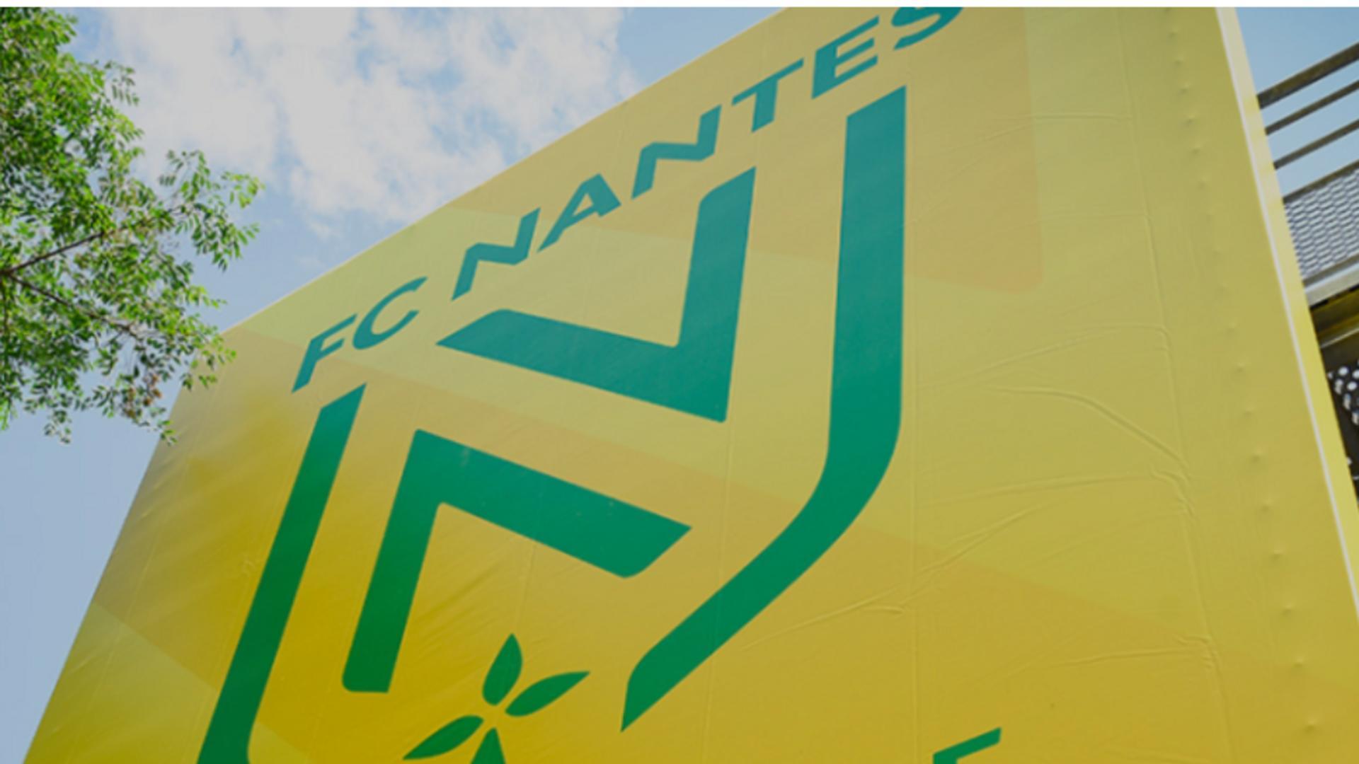 Logo-ul clubului de fotbal FC Nantes / Captură foto