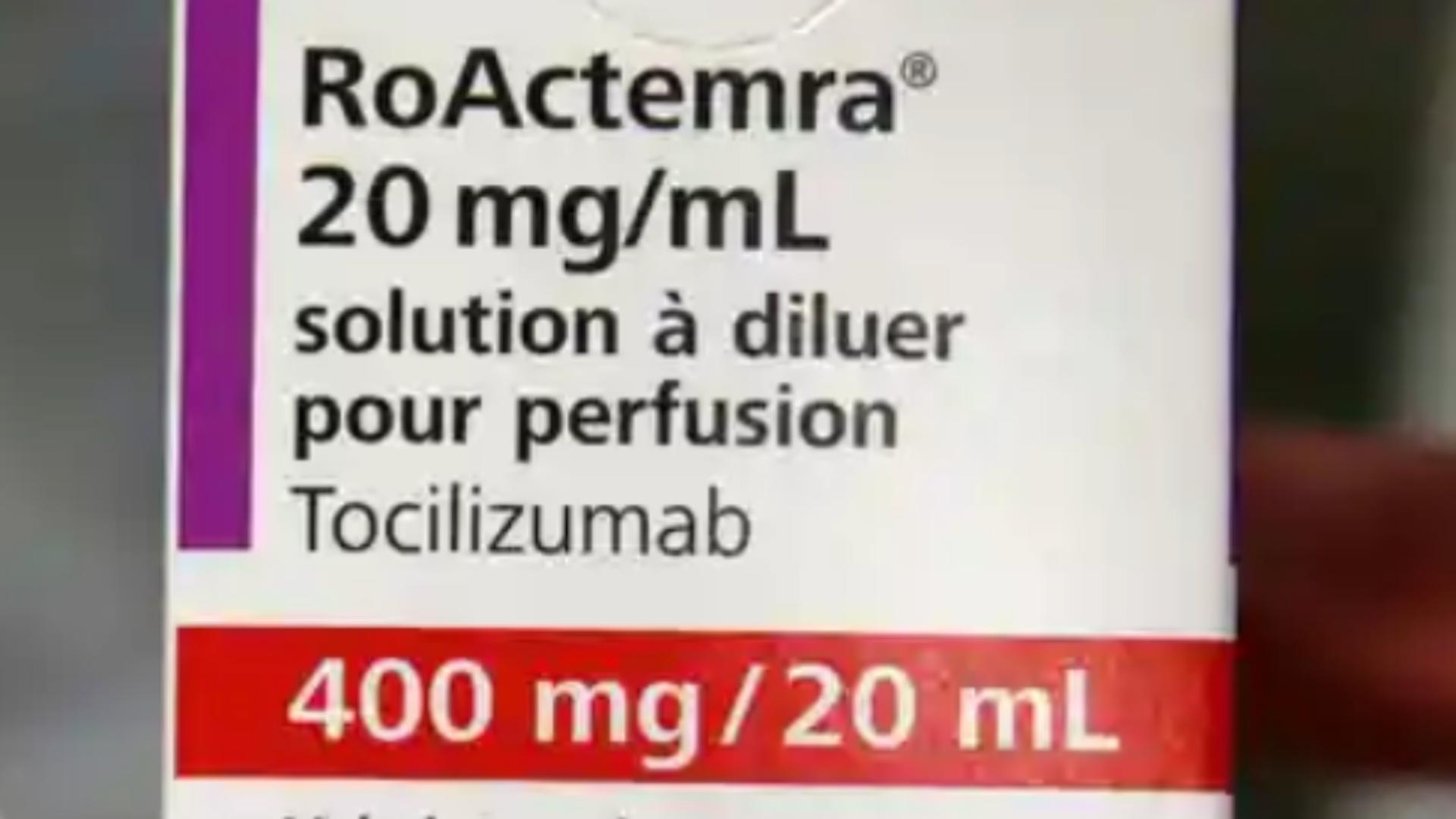 Medicamentul Tocilizumabum / Captură foto National COVID-19 Clinical Evidence Taskforce