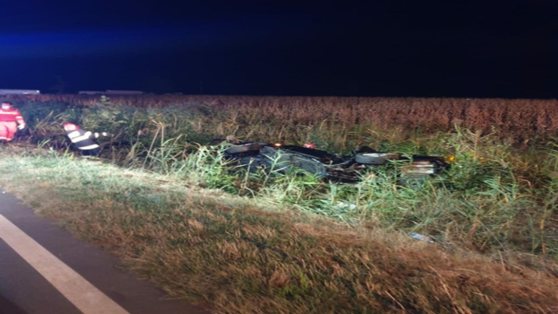 Accident GRAV între Brăila și Buzău - 5 VICTIME