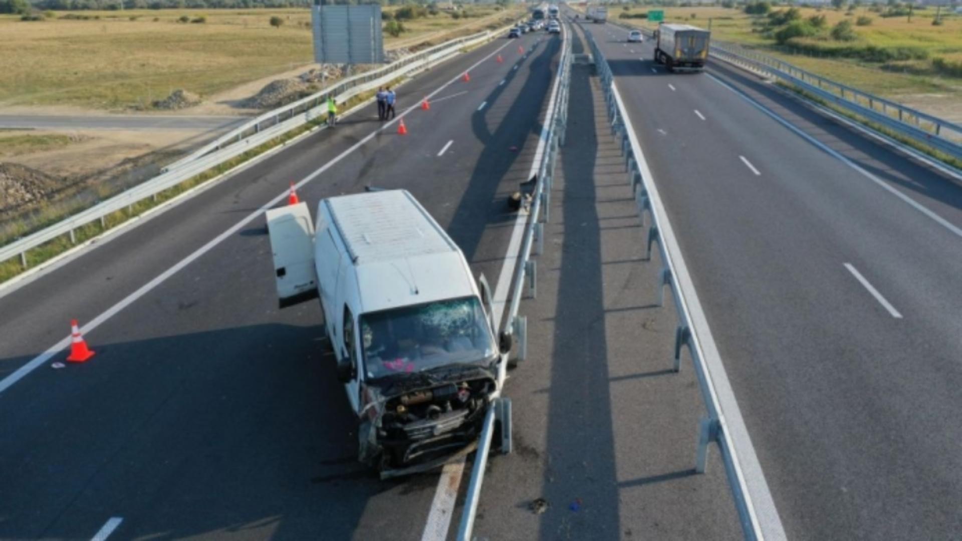 Accident grav, pe Autostrada Sebeș-Turda